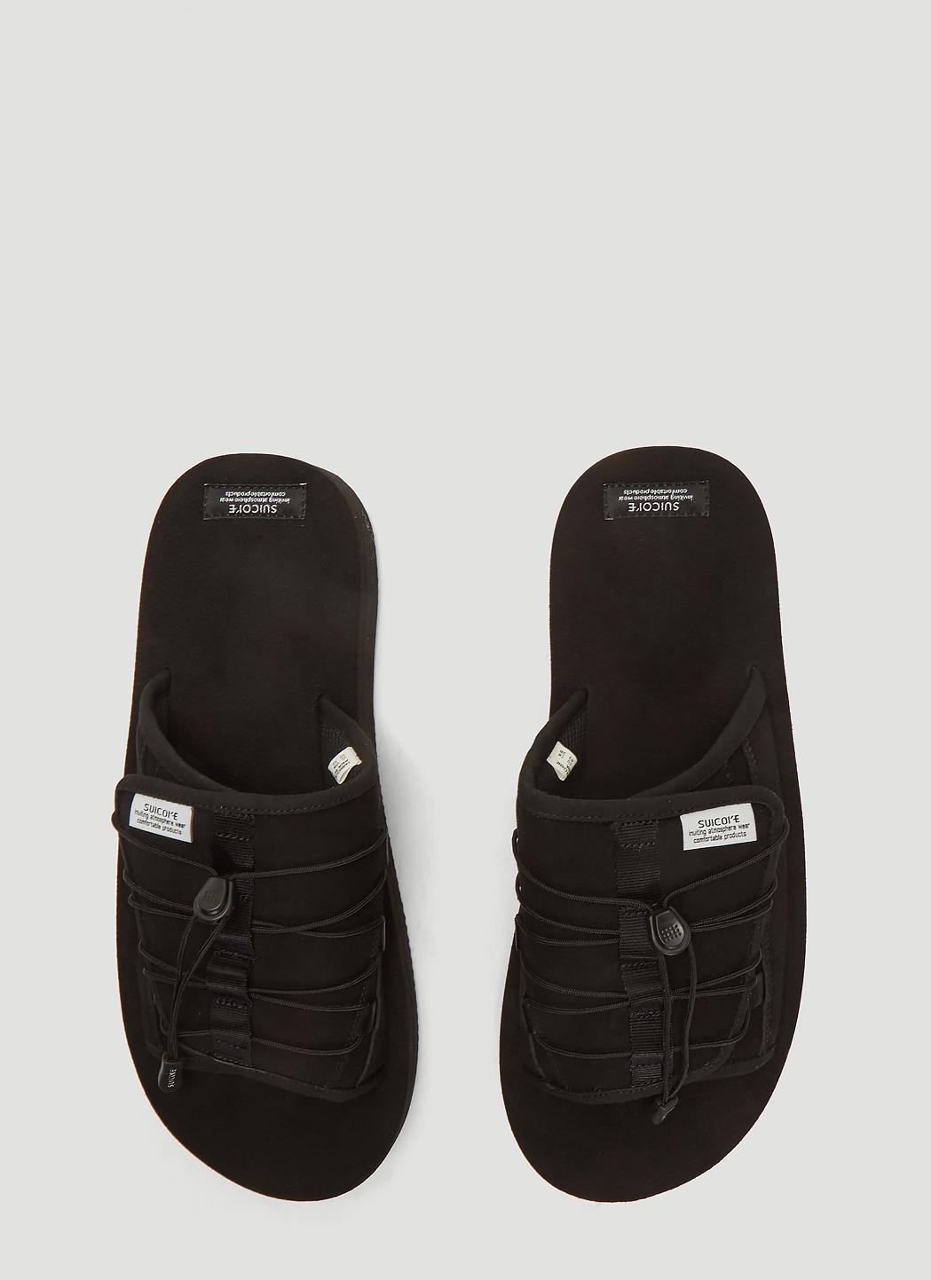 46a191aafa7a Suicoke Olas-ecs Sandals In Black in Black for Men - Lyst