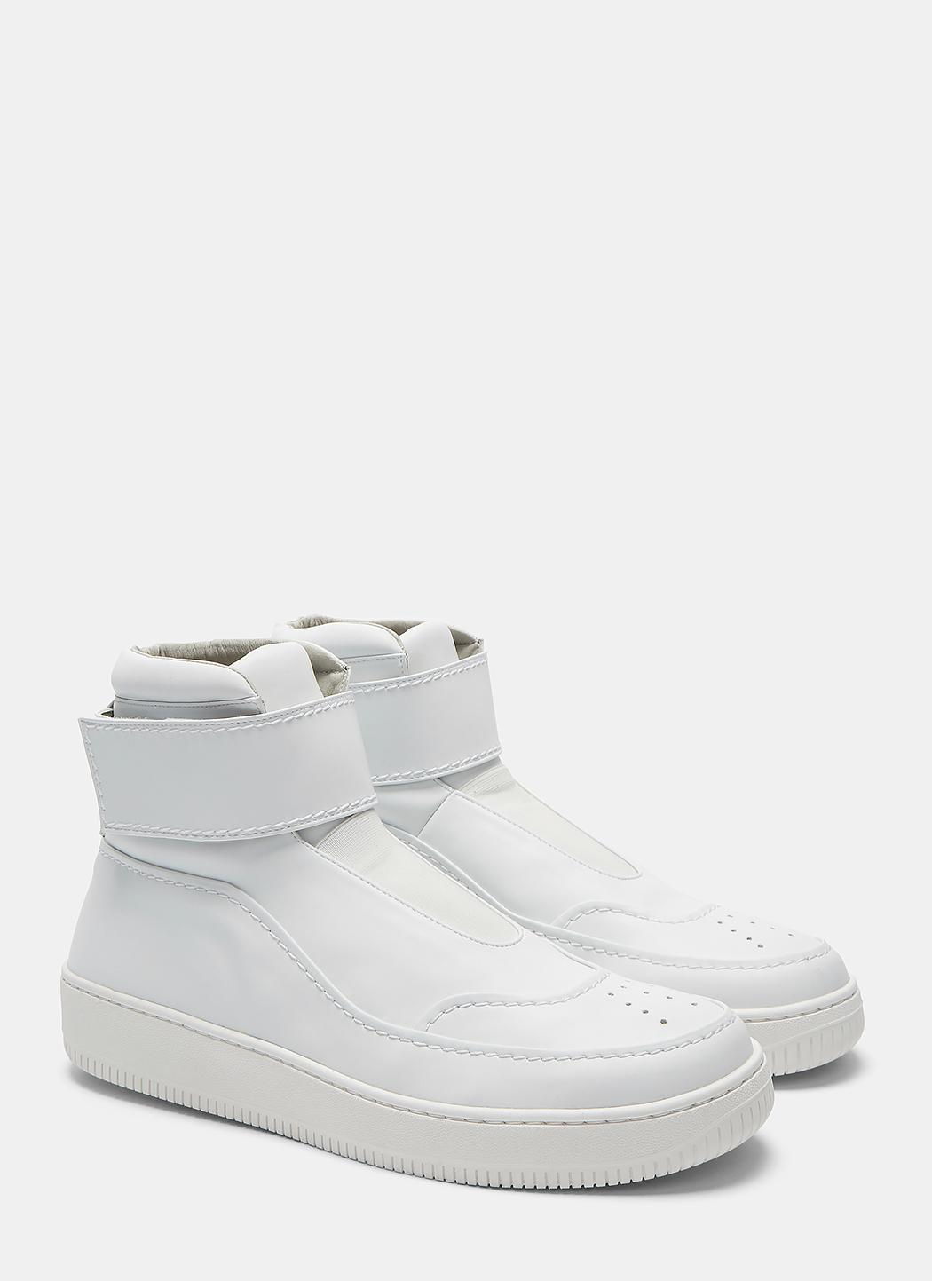 Mens White Coach Shoes