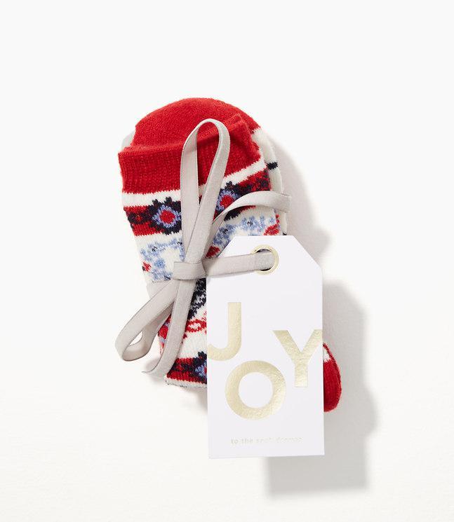 Loft Fairisle Crew Sock Gift Set in Red | Lyst