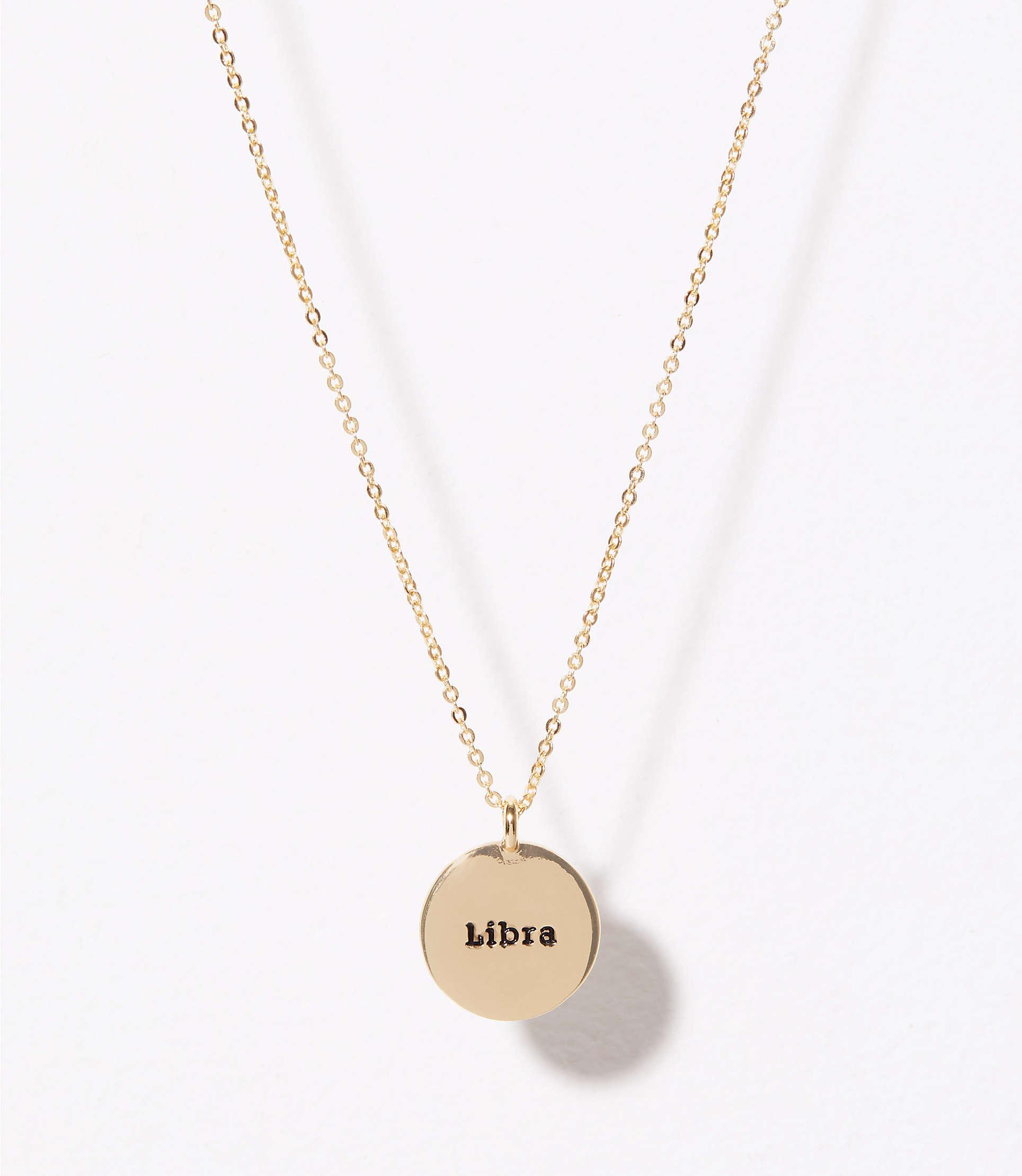 gold tous derniers arrivages libra fr colour warehouse les horoscope necklace