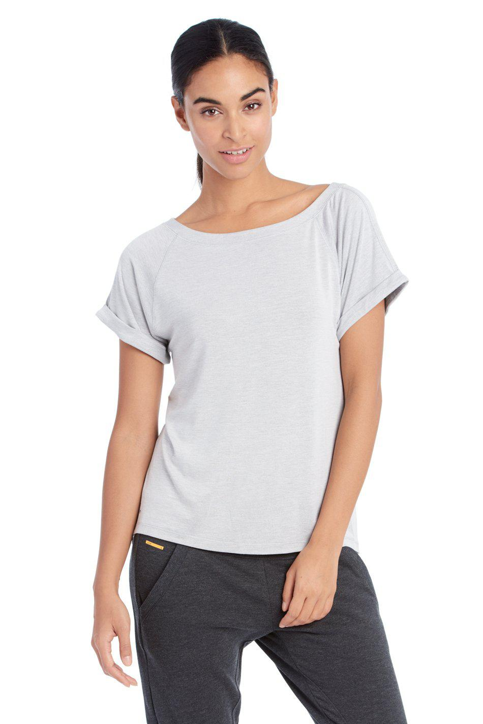 f00f6257e42 Lyst - Lolë Aster Tee in Gray