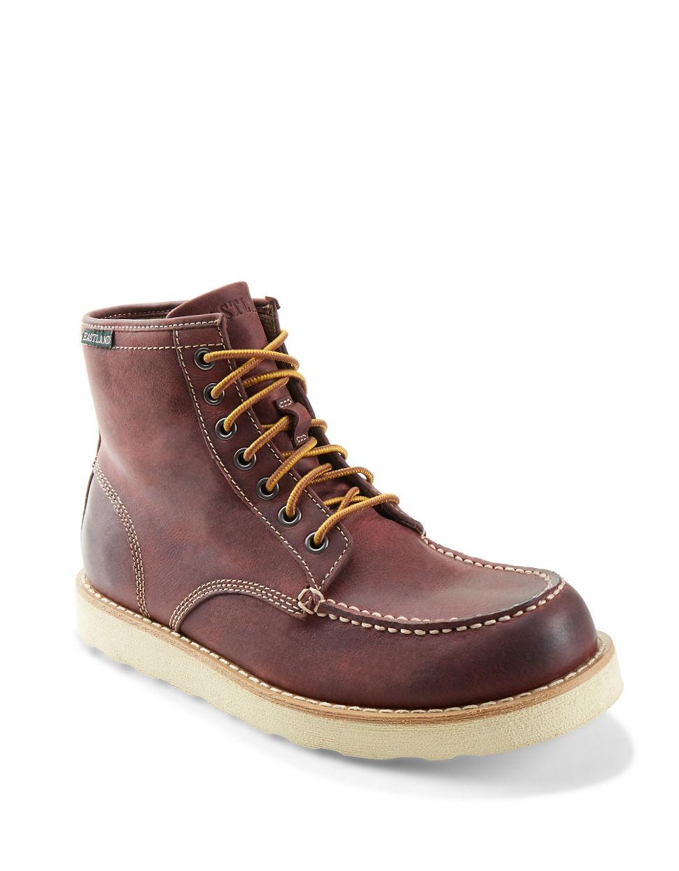 Eastland Multicolor Lumber Up Boots For Men Lyst