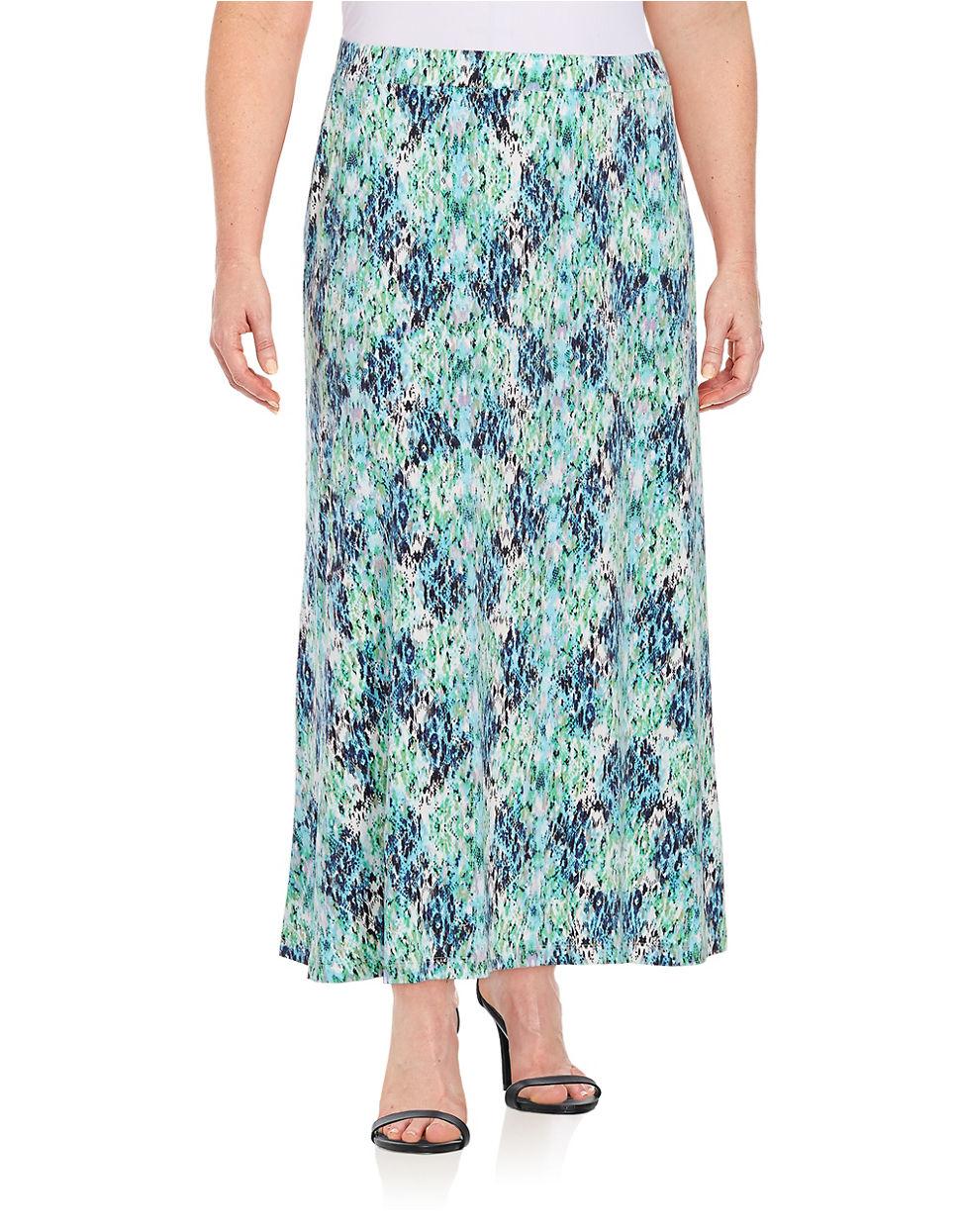 nipon boutique plus ikat maxi skirt lyst