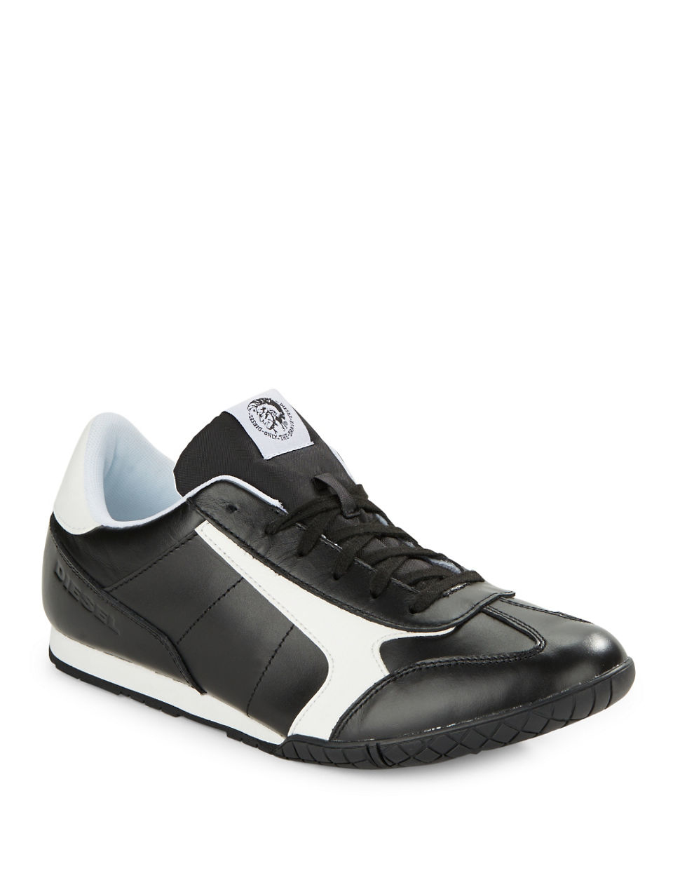 diesel flash sneakers in black for men lyst