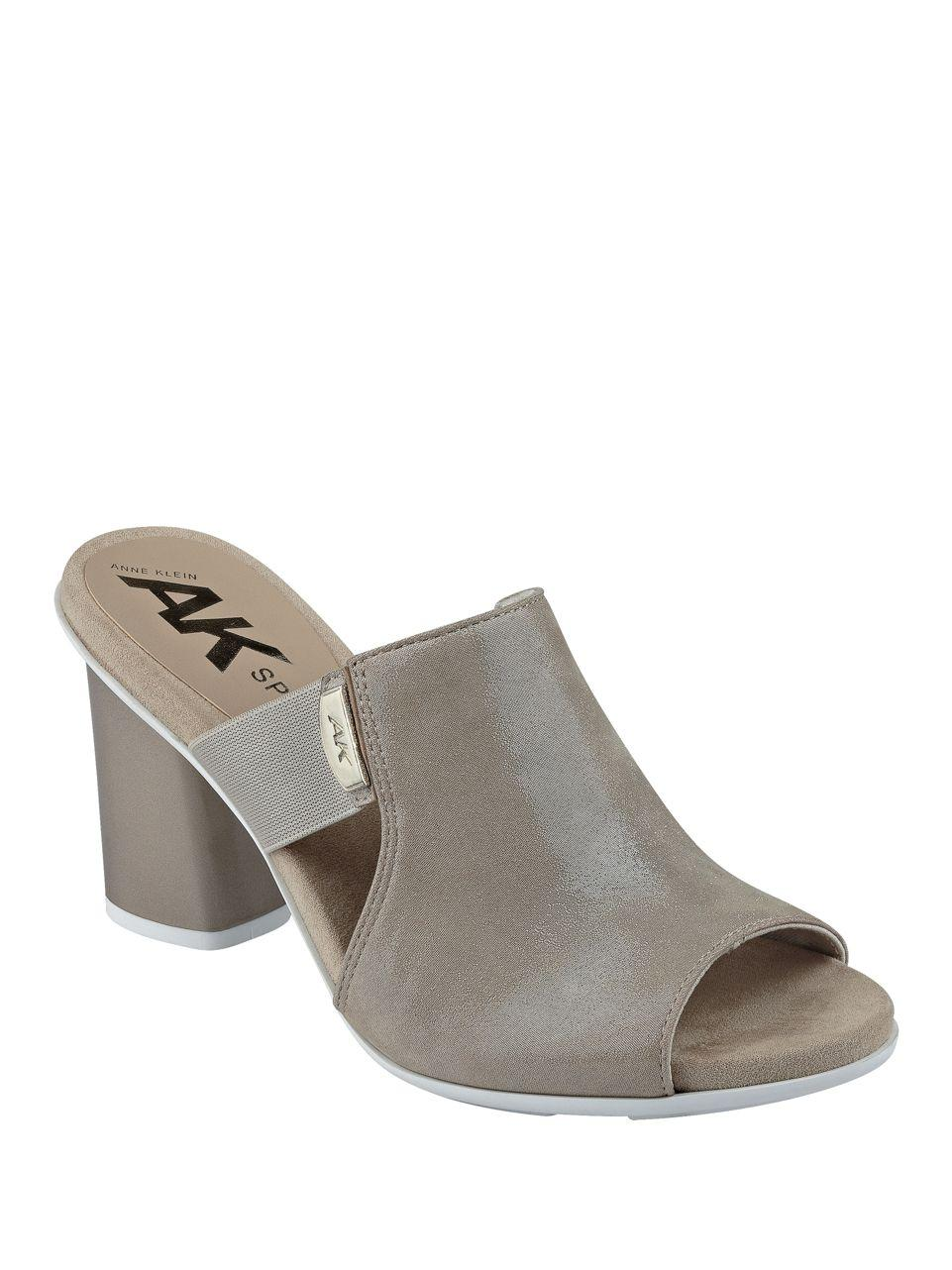 Anne Klein Block Mules Shoes For Women