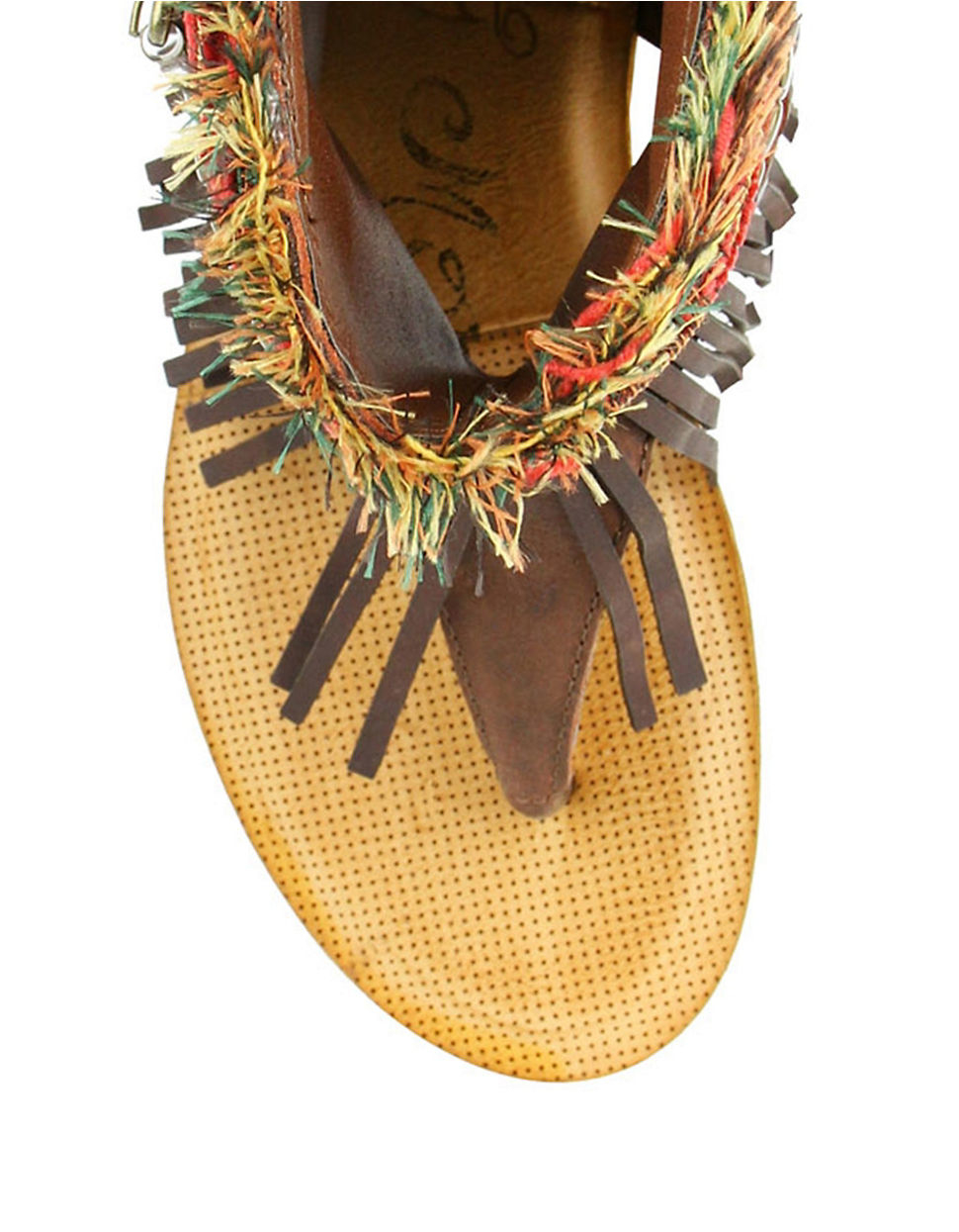 Naughty Monkey Amiga Sandals In Brown Lyst