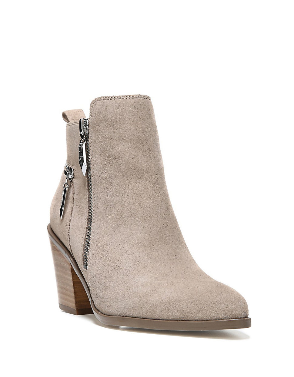 fergie suede ankle boots lyst