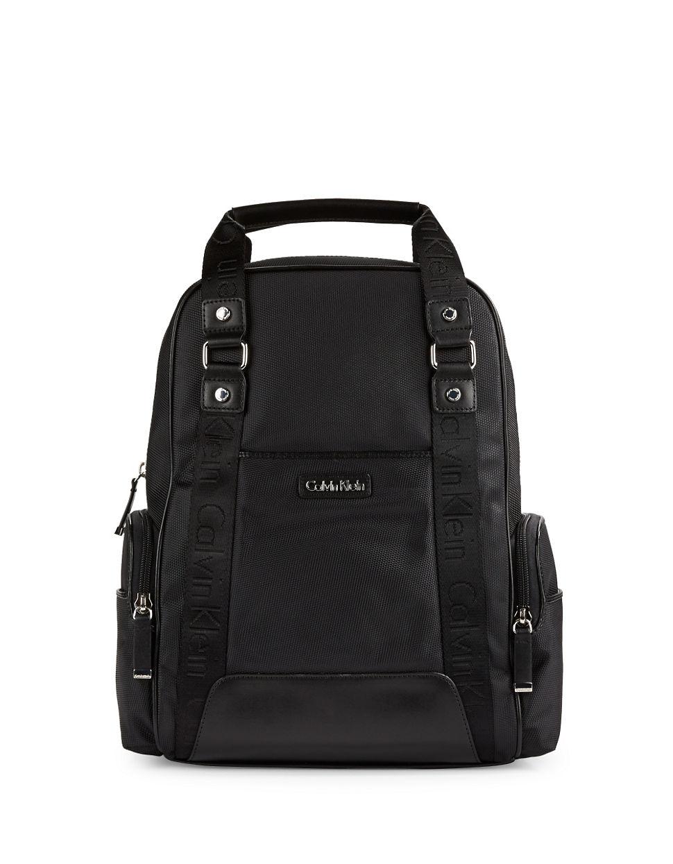 38db85361aa Calvin Klein Talia Dressy Nylon Backpack Black | Building Materials ...