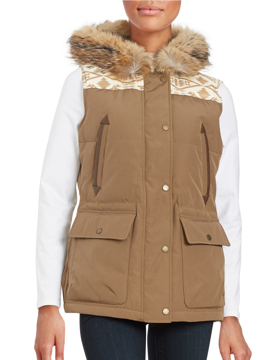 Find great deals on eBay for faux fur trim vest. Shop with confidence.