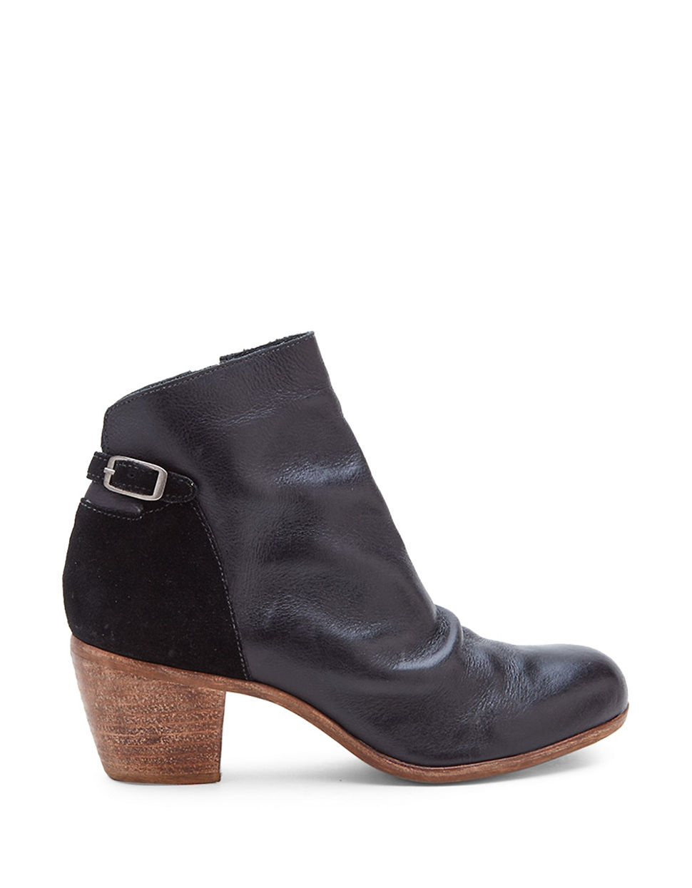 matisse lorenzo leather and suede boots in black lyst