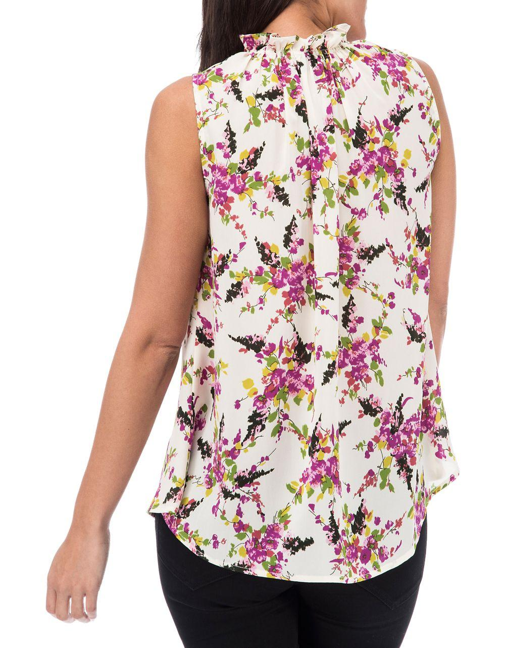 Lyst B Collection By Bobeau Tropical Tank Top