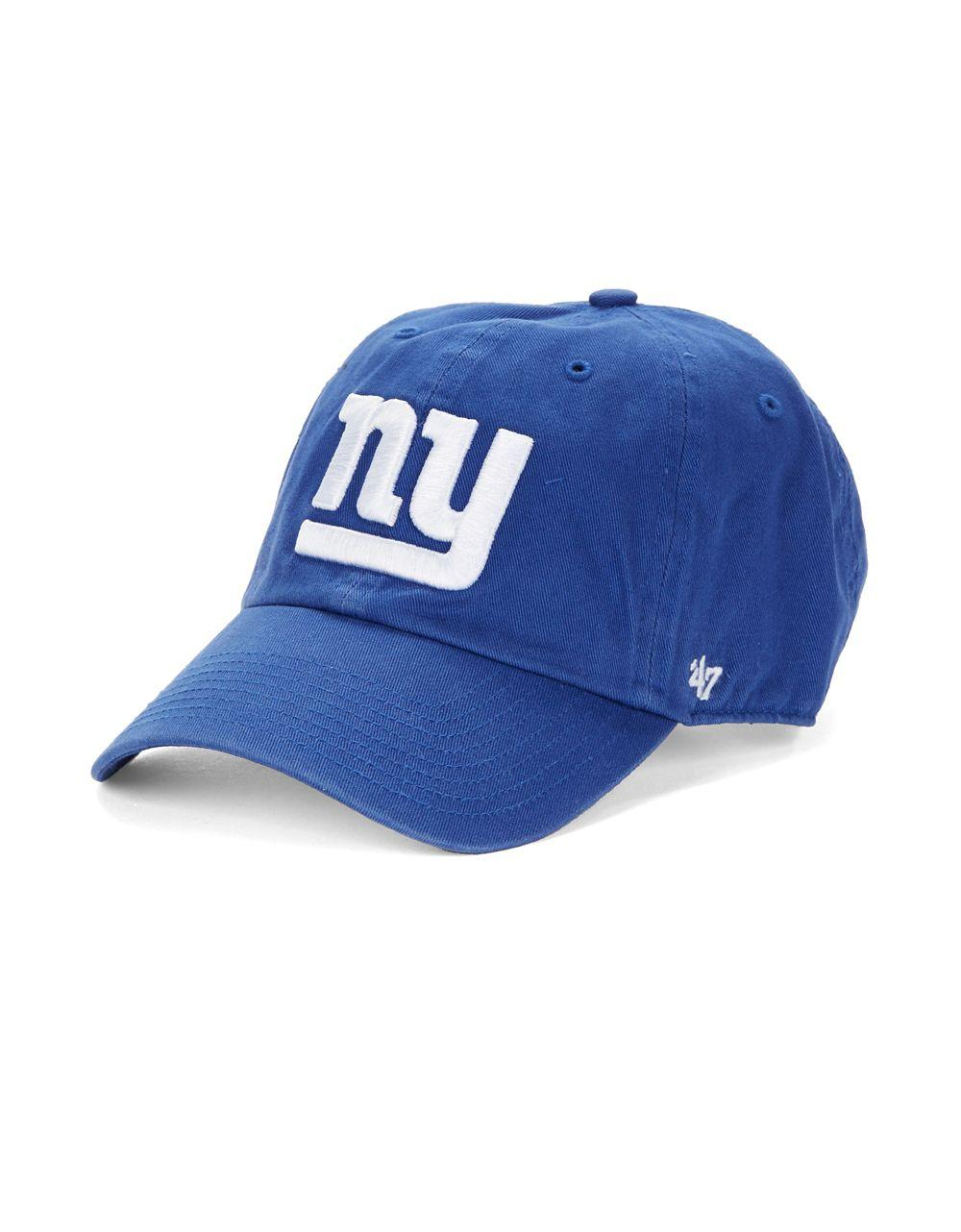 Lyst 47 Brand New York Giants Baseball Cap In Blue For Men