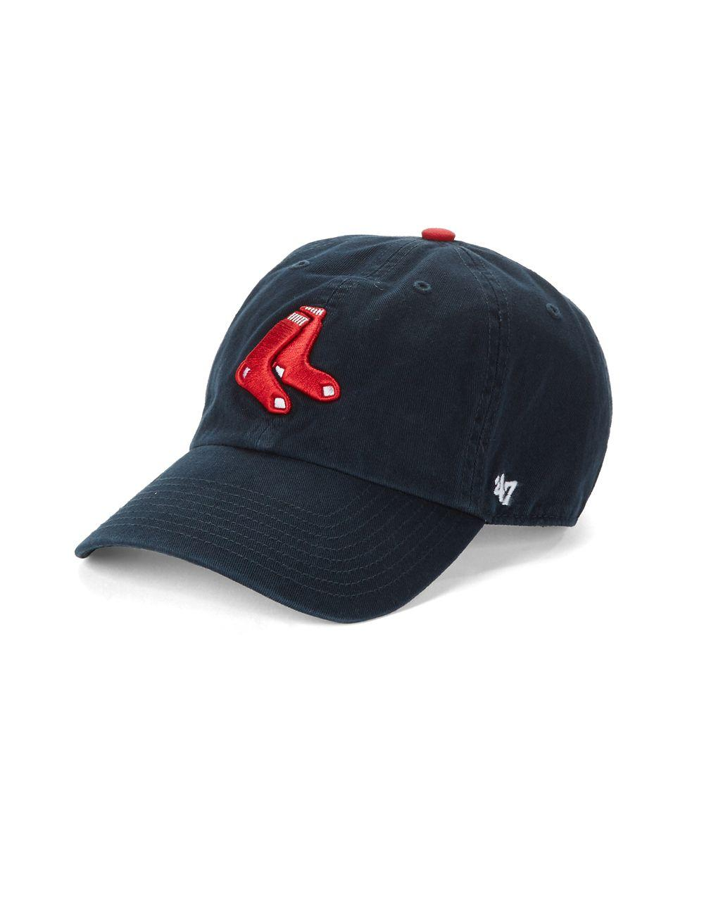 Lyst 47 Brand Boston Red Sox Adjustable Baseball Cap In