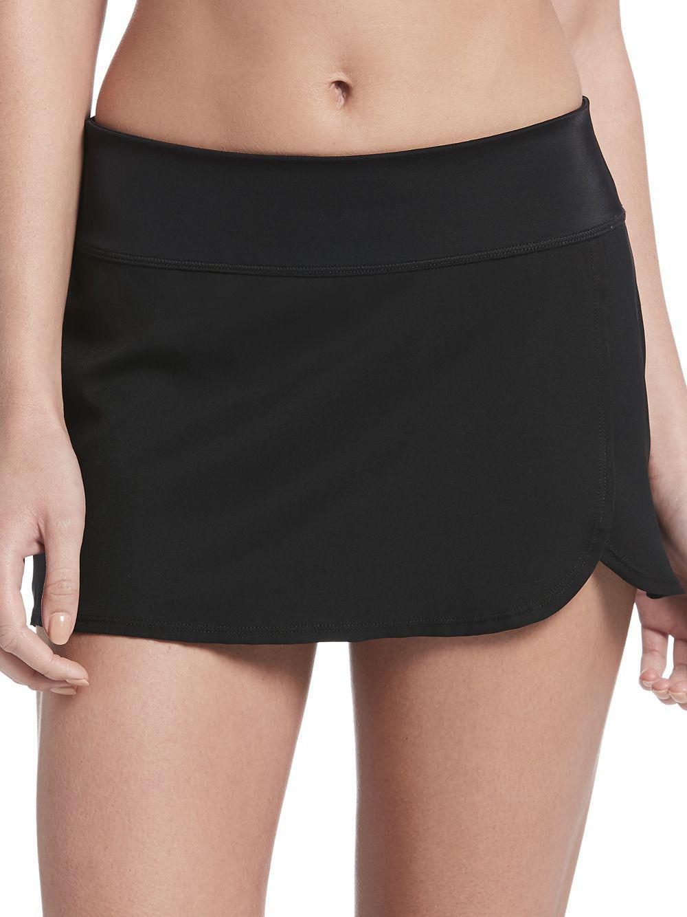 9850f4e970e Lyst - Nike Solid Element Swim Boardskirt in Black