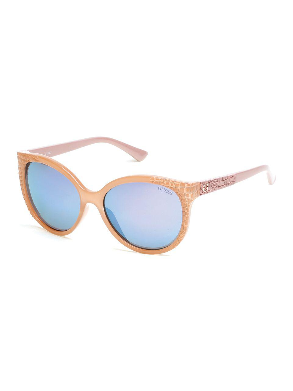 57x Gf0297 sol Guess mujer Gafas 56 para beige de color tqEx5wO