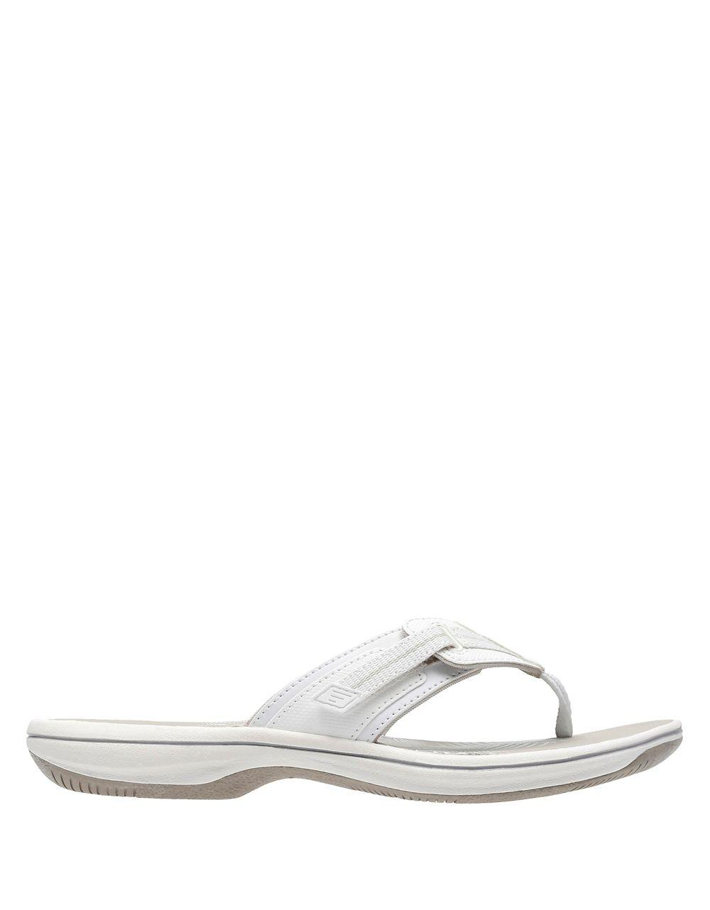 b36688cac413 Clarks Brinkley Jazz Sandals in White - Lyst