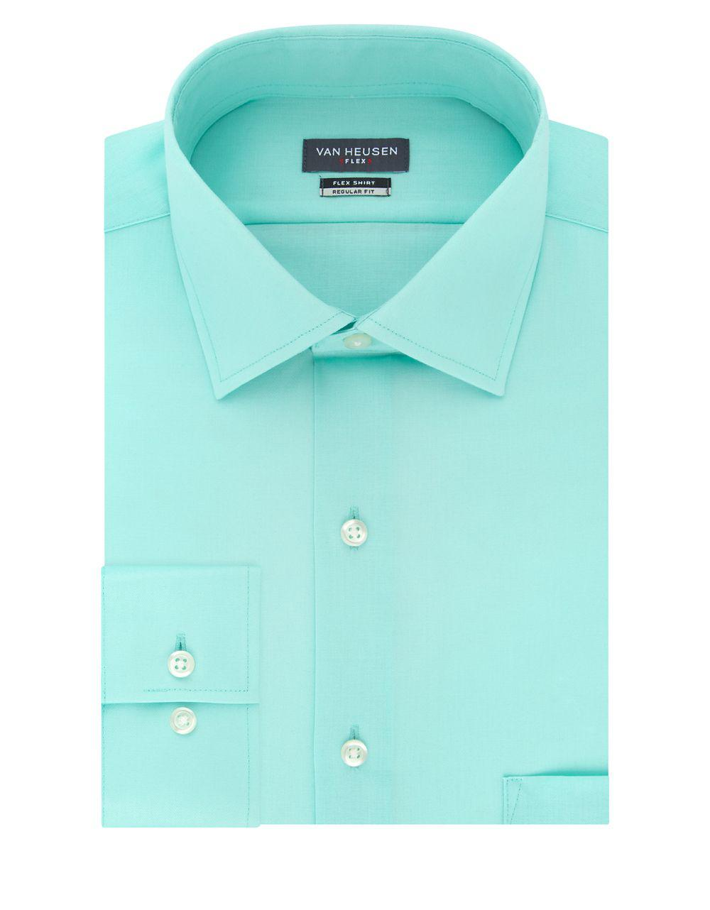 Mint Green Dress Shirt Mens Bcd Tofu House