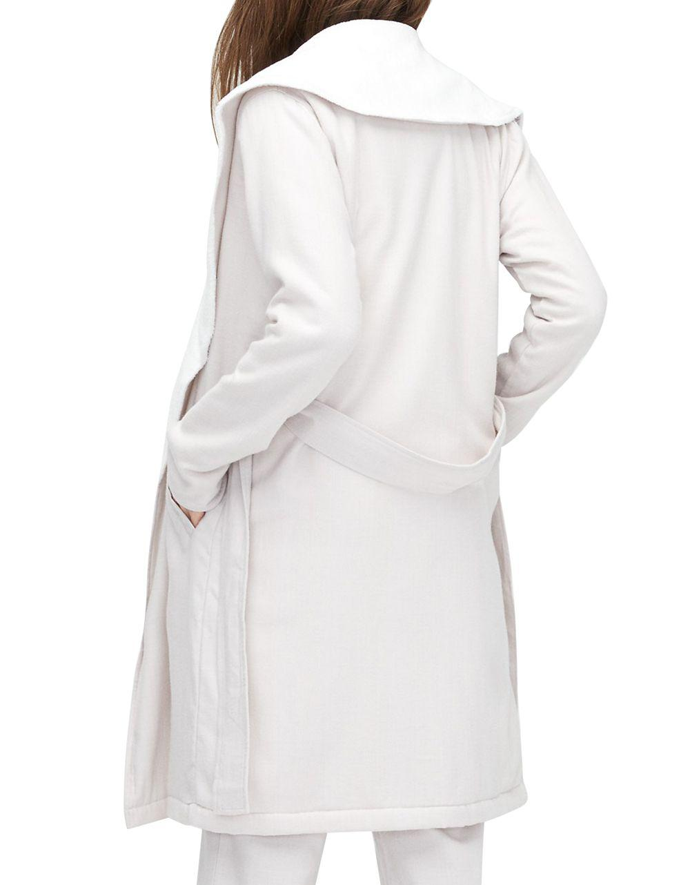 90eb03dac3 Lyst - Ugg Herringbone Robe in White