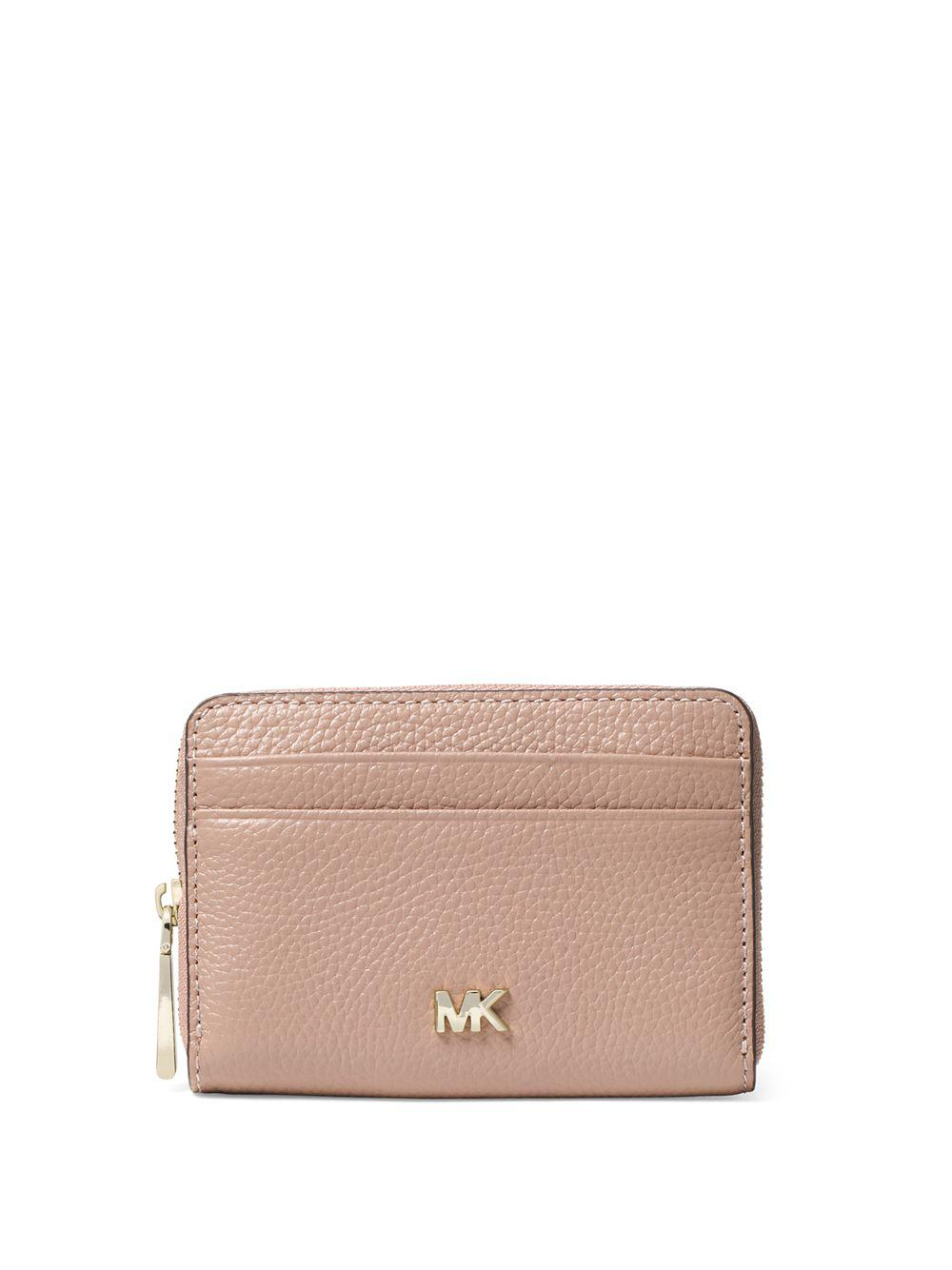 1f5dd416637ef Michael Michael Kors Money Pieces Textured Leather Coin Purse in ...