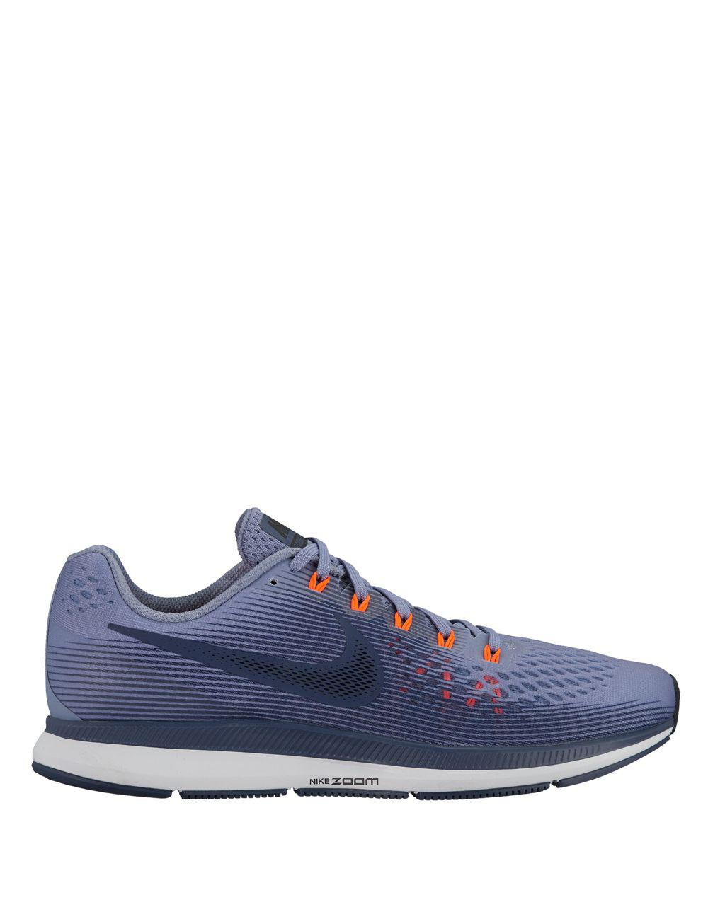 8348c4f246c14 Lyst - Nike Air Zoom Pegasus 34 Running Sneakers in Blue
