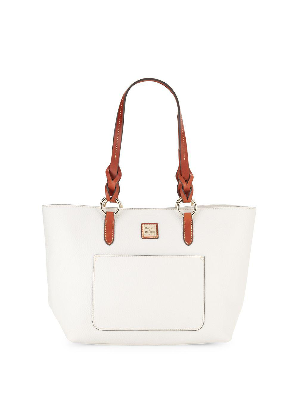 a115da99d Lyst - Dooney & Bourke Tammy Leather Tote
