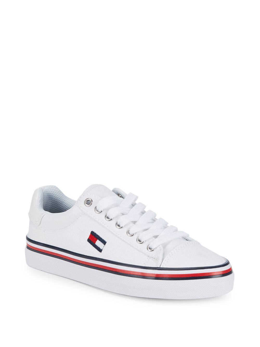 Tommy Hilfigerlogo lace-up sneakers Prix Bon Marché Authentique sAs8f4p