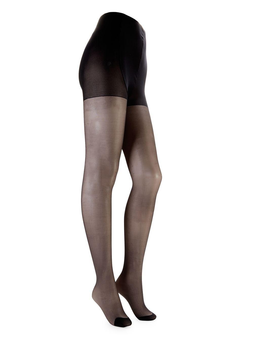 1bb5c4449cb4b Lyst - Pretty Polly Sheer Glossy Tights in Black - Save 5%