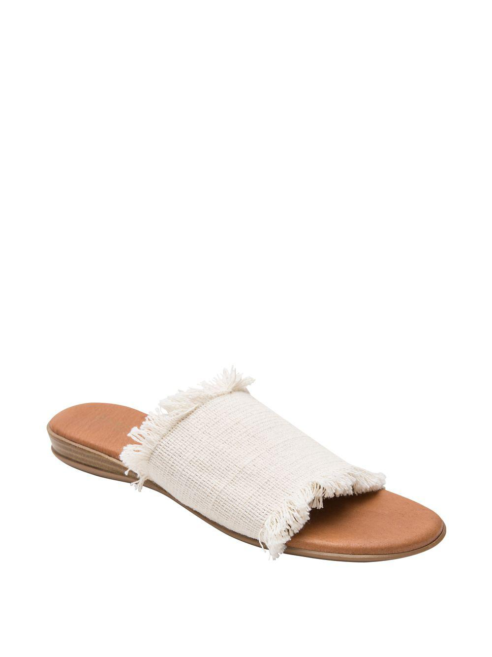 5350a1b9e38601 Lyst - Andre Assous Nirvana Sandals in Natural