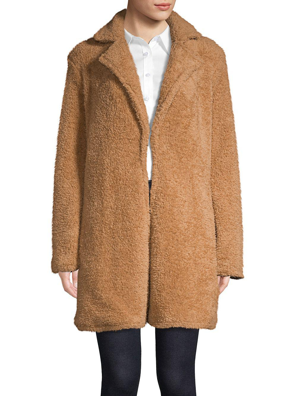 50e45df03a1 Lyst - The Fifth Label Paige Tailored Faux Fur Jacket in Brown