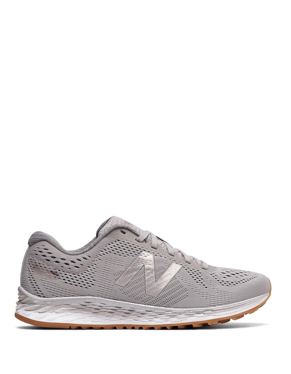 New Balance Lace-Up Mesh Sneakers g6NwayJ