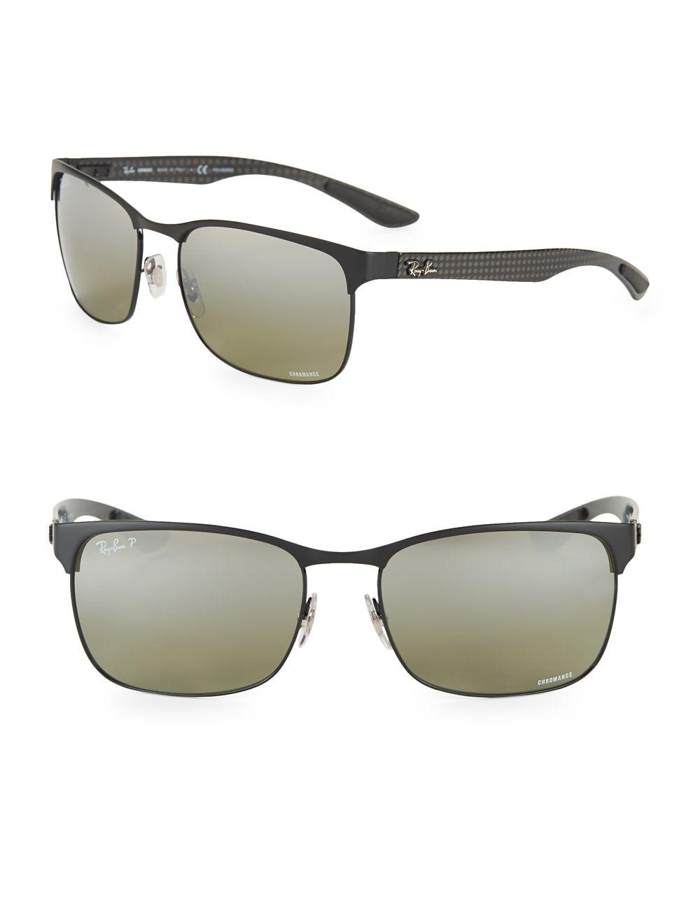 68d72a203ef Ray-Ban Chromance Sunglasses in Black for Men - Lyst