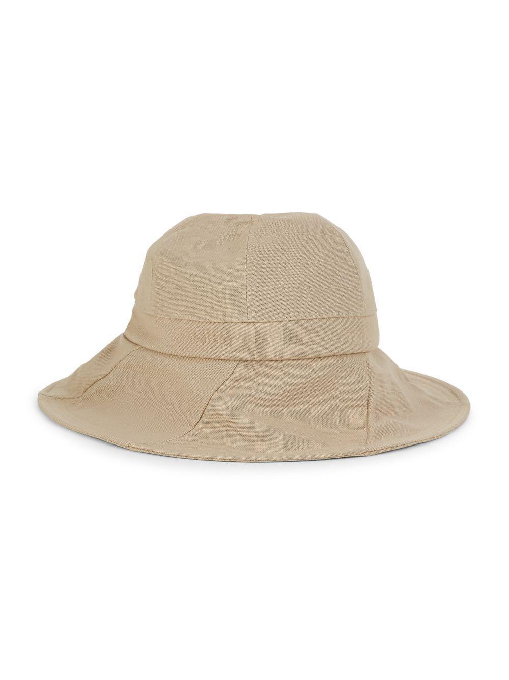 7f44a5ff9 Lyst - Dorfman Pacific Women's Cotton Sun Hat in Natural