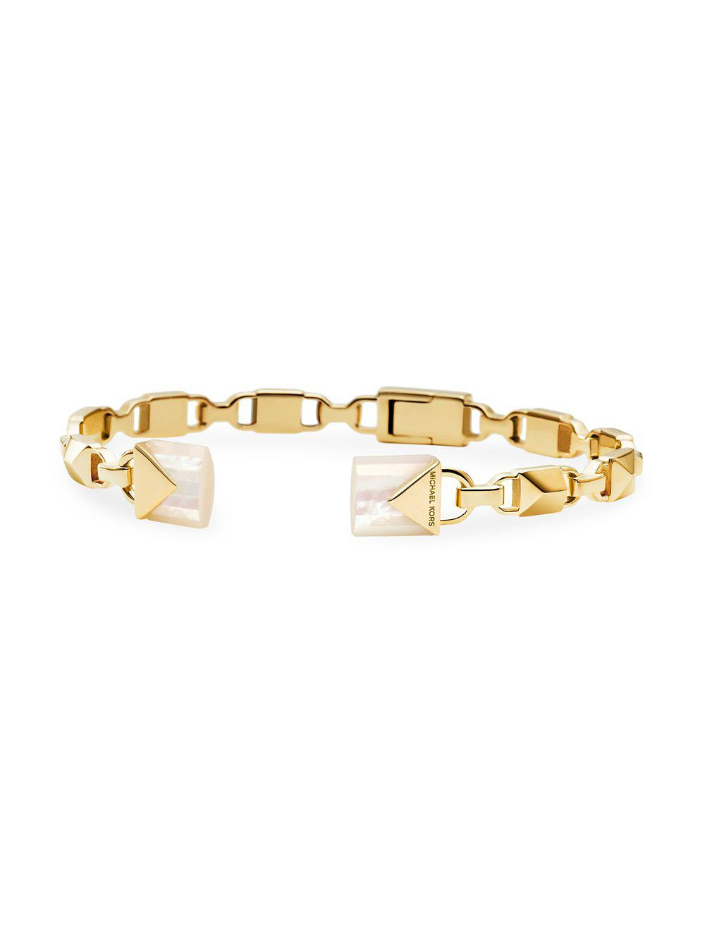 Mother Of Pearl Cuff Bracelet View Fullscreen