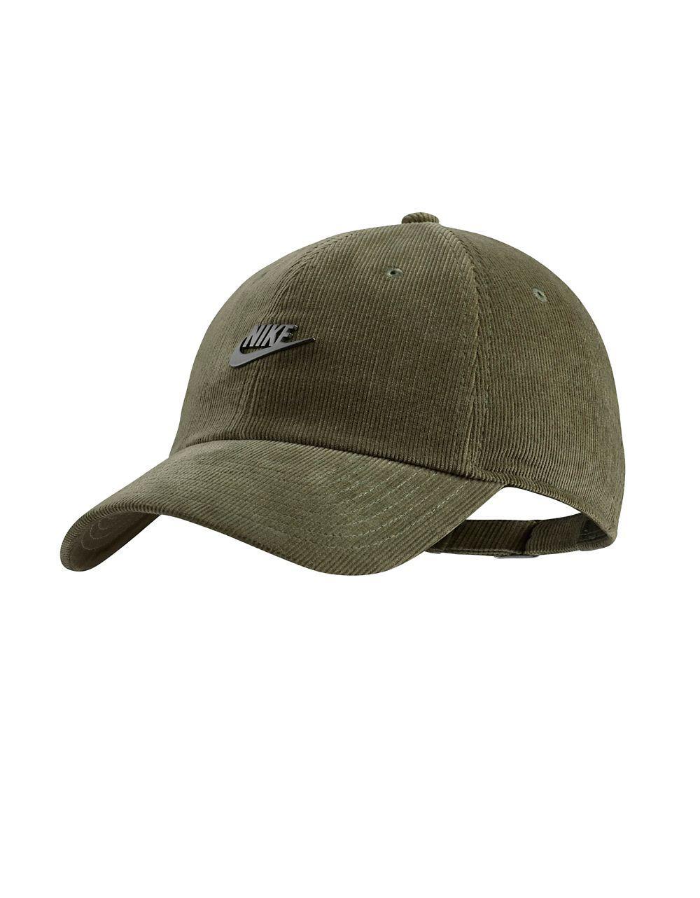2eaa54c7 Nike Sportswear Heritage Corduroy Baseball Cap in Green for Men - Lyst