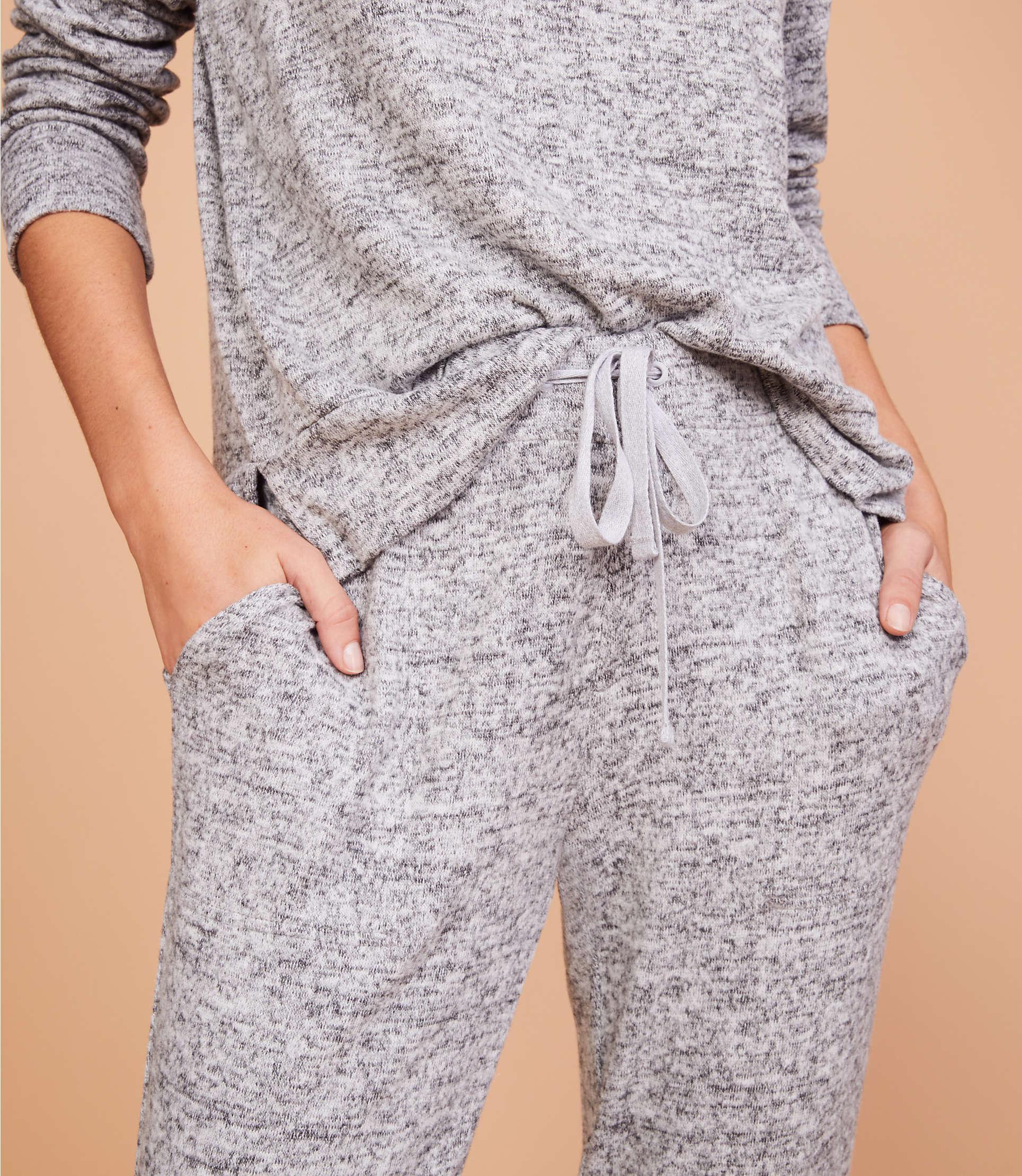 89187fe6df522 Lou & Grey - Gray Brushmarl Sweatpants - Lyst. View fullscreen
