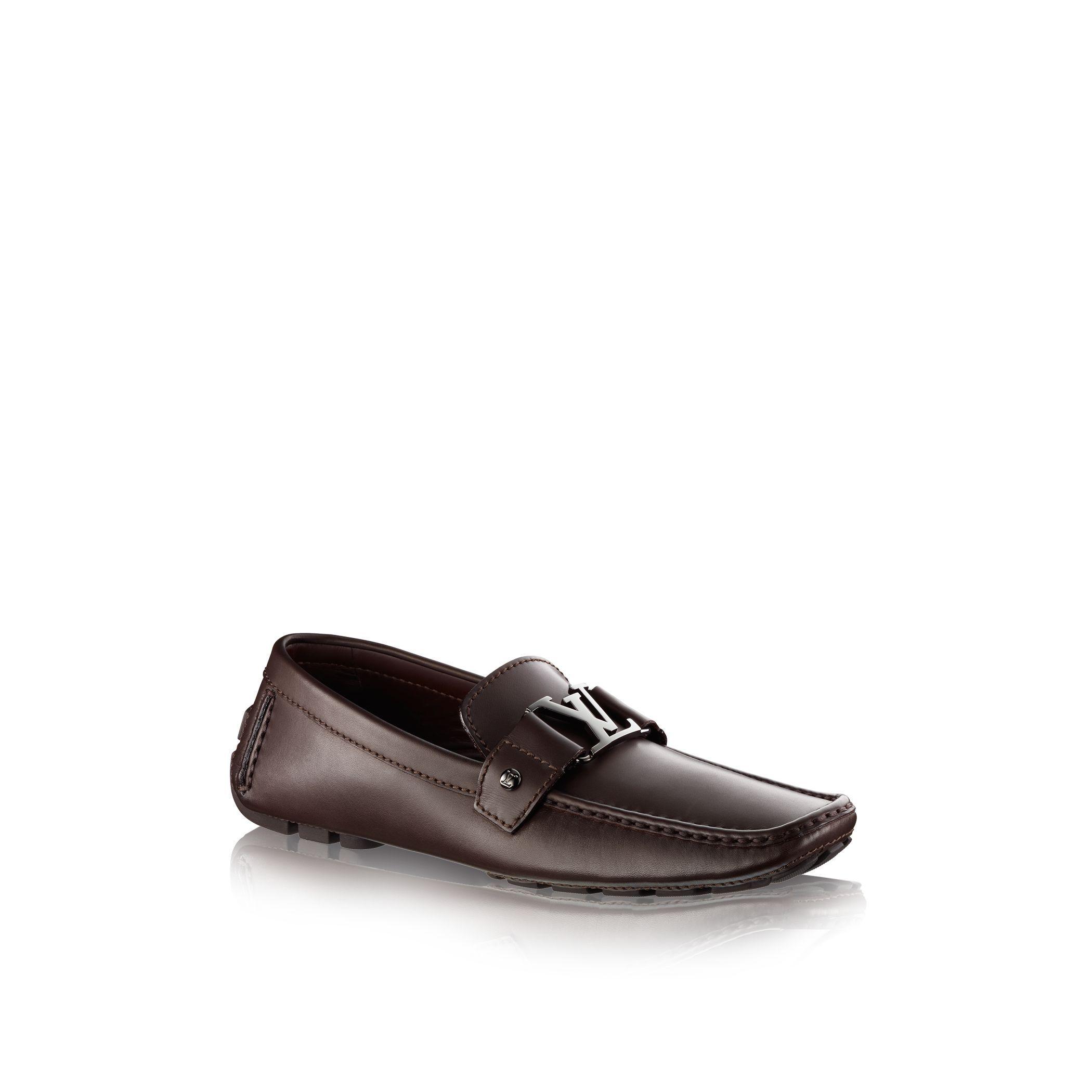 louis vuitton monte carlo car shoe in purple for men lyst. Black Bedroom Furniture Sets. Home Design Ideas