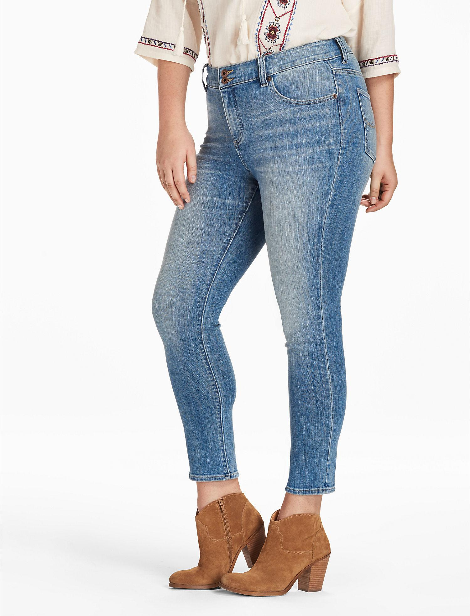 999a69afe7a Lyst - Lucky Brand Emma Straight in Blue
