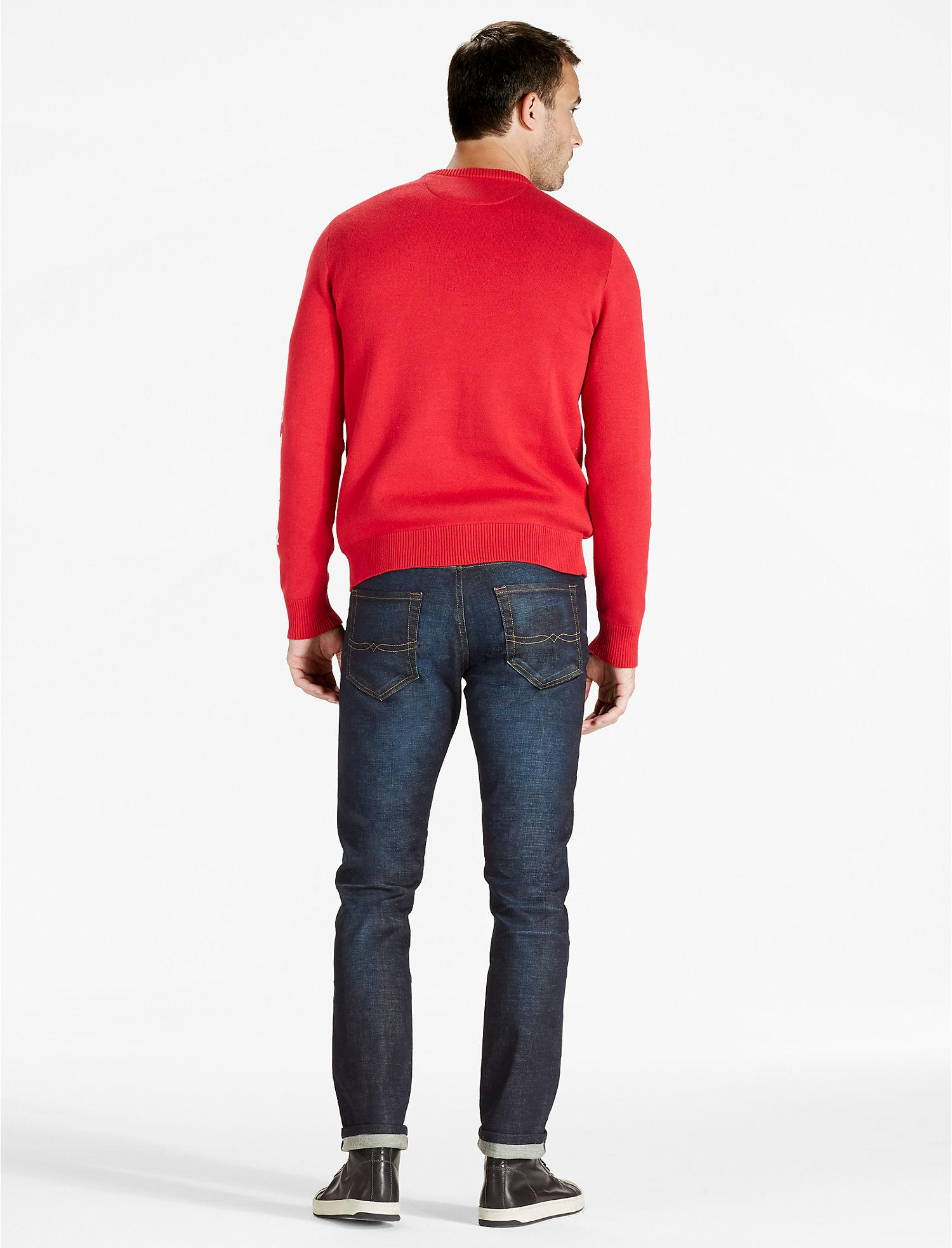 Lucky brand Budweiser Sweater in Red for Men | Lyst