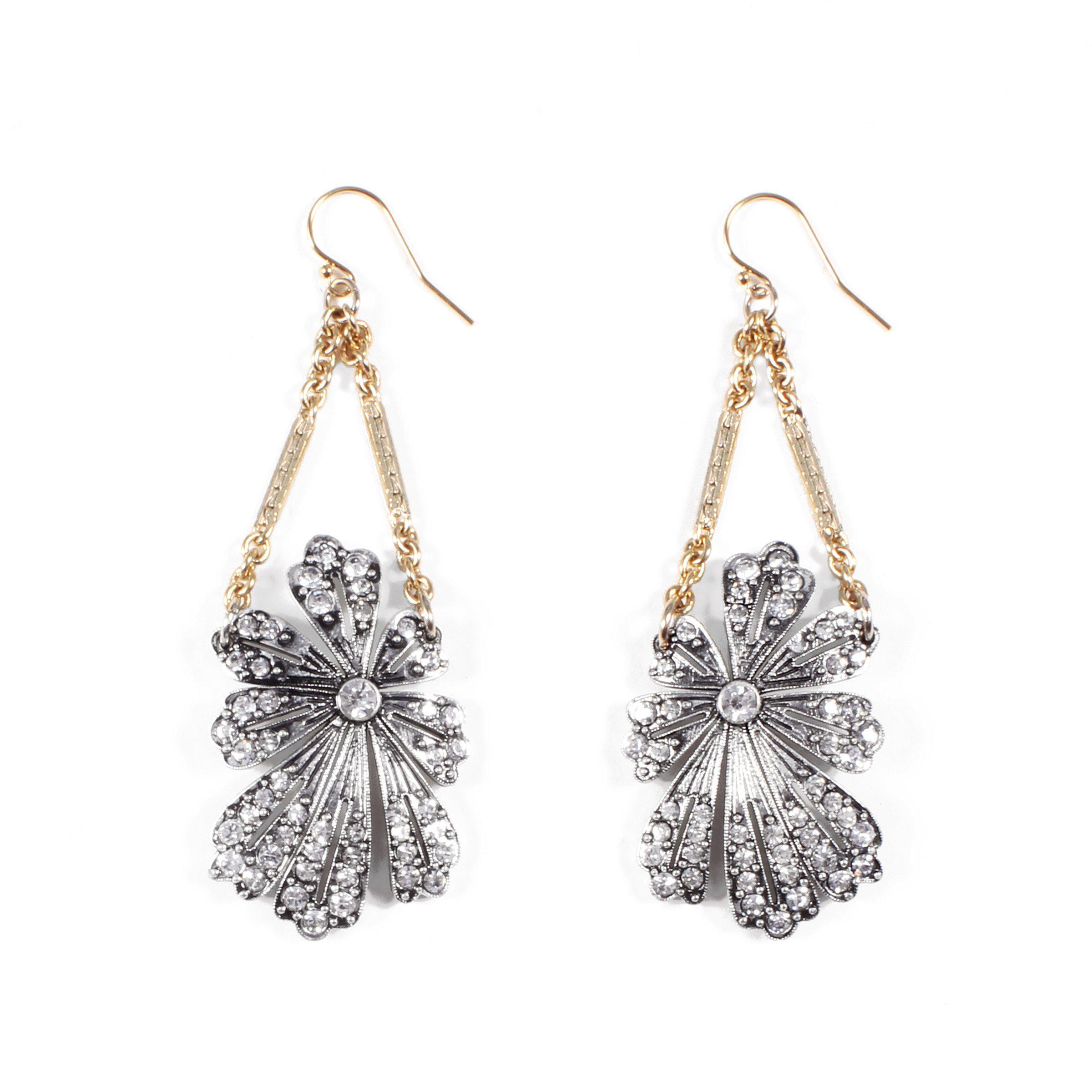 b07539446e549 Lulu Frost Camellia Wire Earrings - Lyst