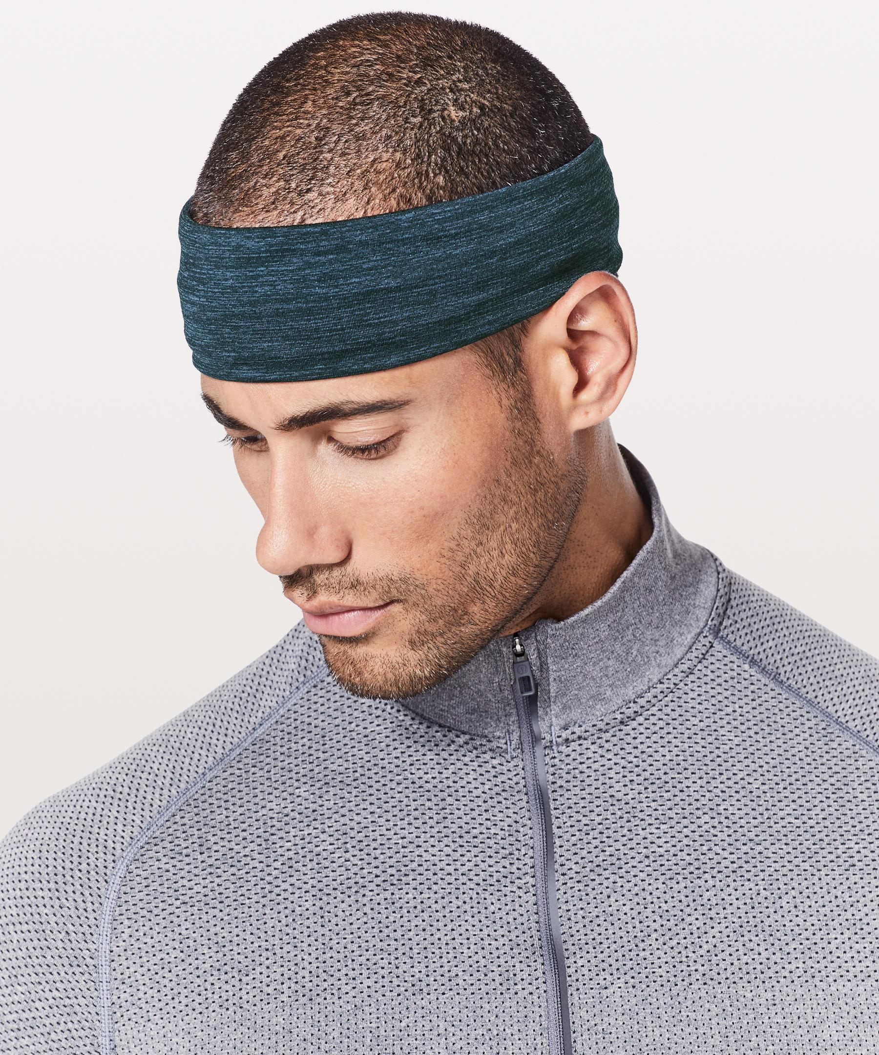 7ba289507ff7b Lululemon Athletica Metal Vent Tech Headband in Blue for Men - Lyst