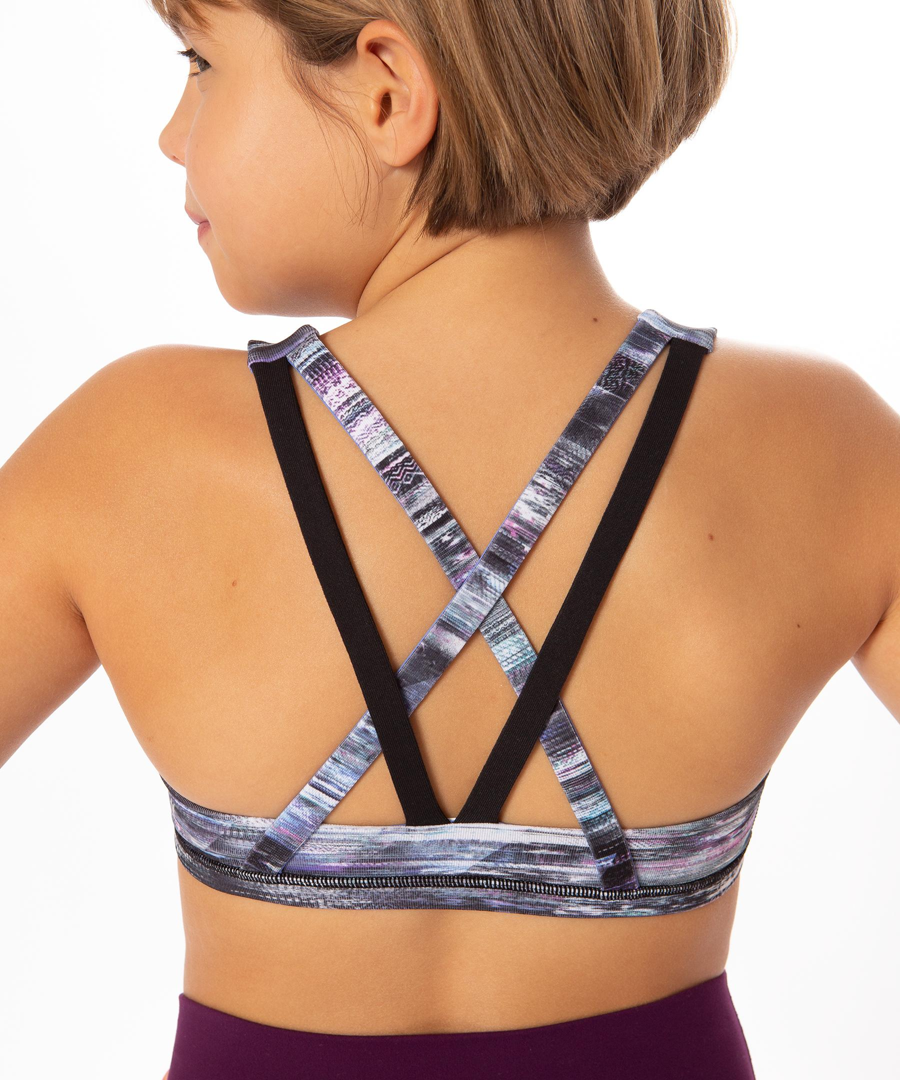 c5f3cfcc13 Lyst - lululemon athletica Complete Focus Bra  reversible - Girls in ...