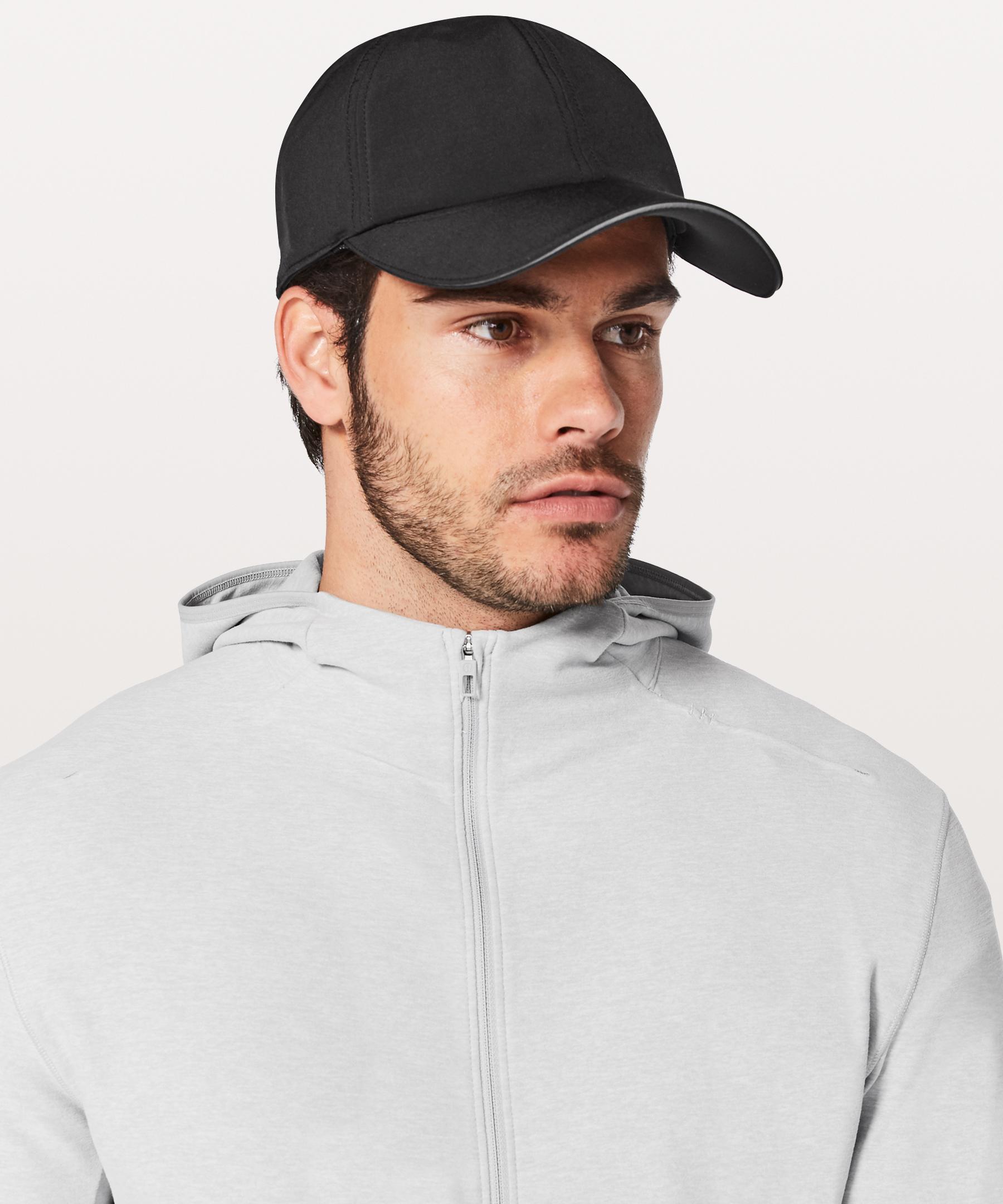 Lyst - lululemon athletica Lightspeed Run Hat in Black for Men b44f78dc479c