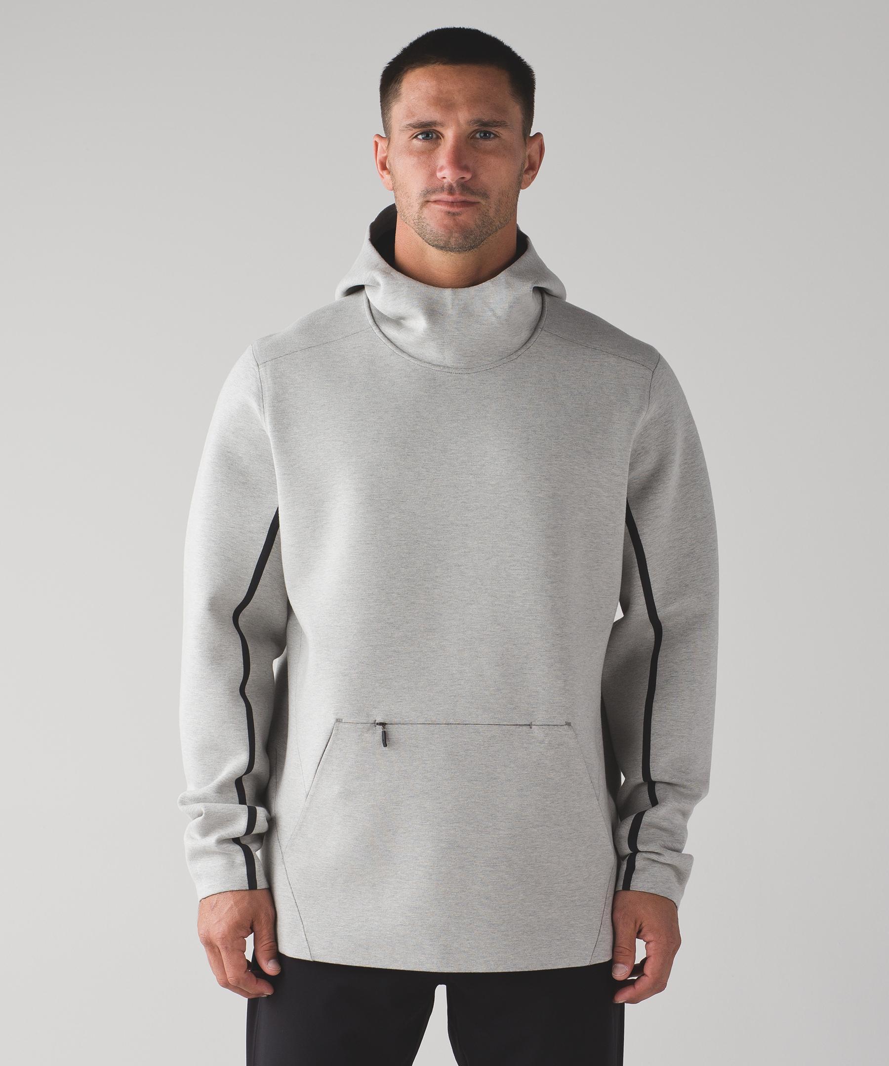 66768edcb0 lululemon athletica Stratum Pullover Hoodie in Gray for Men - Lyst
