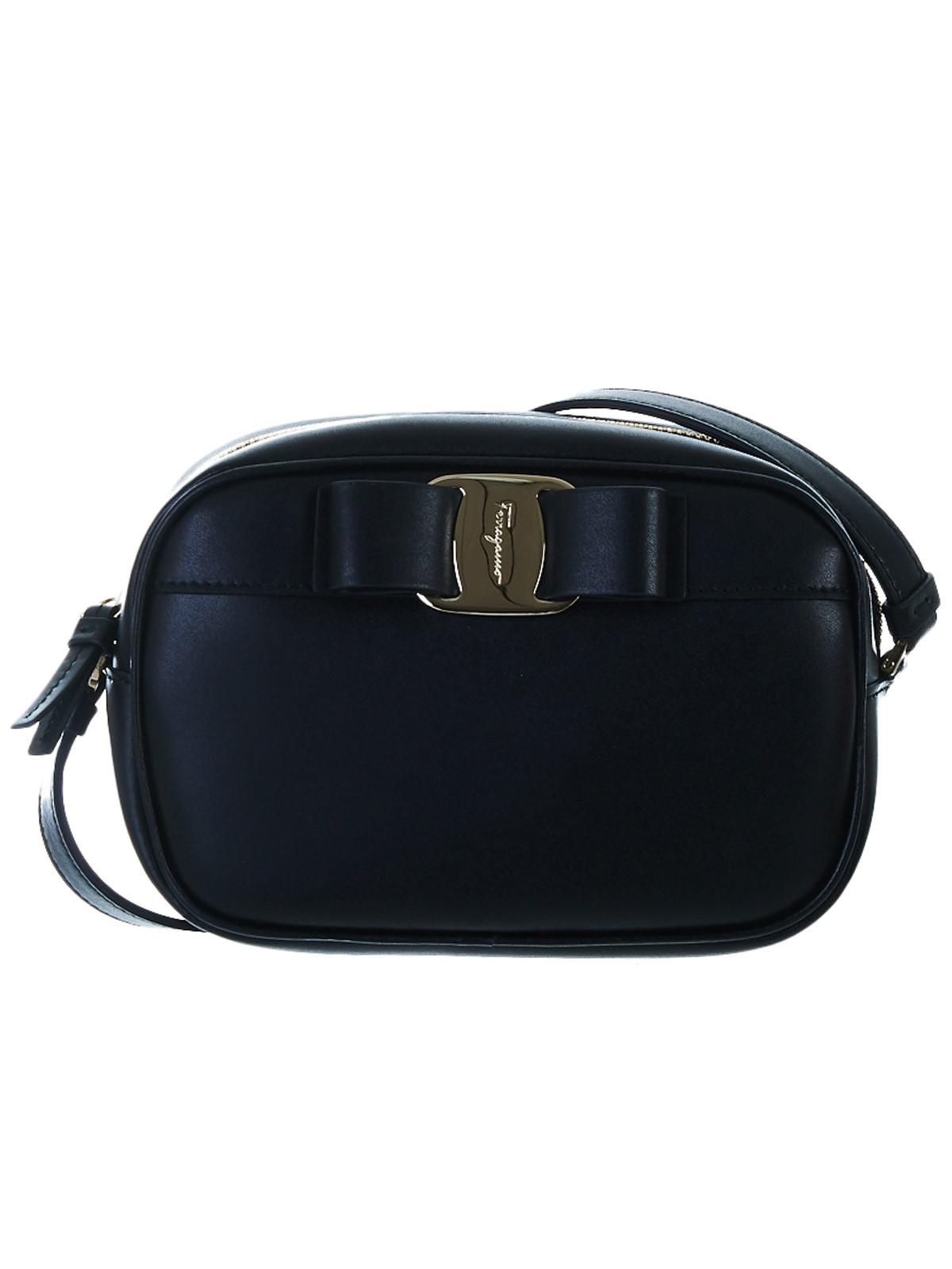 4c463f855abd Lyst - Ferragamo Black Vara Bag in Black - Save 1.9503546099290787%