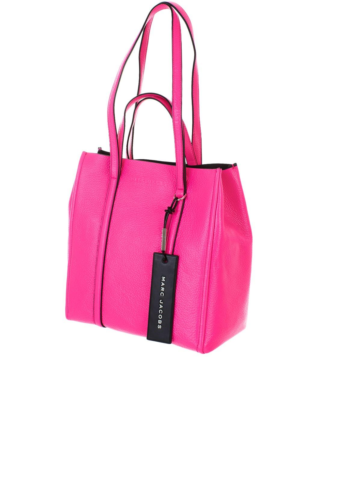 1b9482d54935 Lyst - Marc Jacobs The Tag Tote 27 Bag in Pink - Save 38%