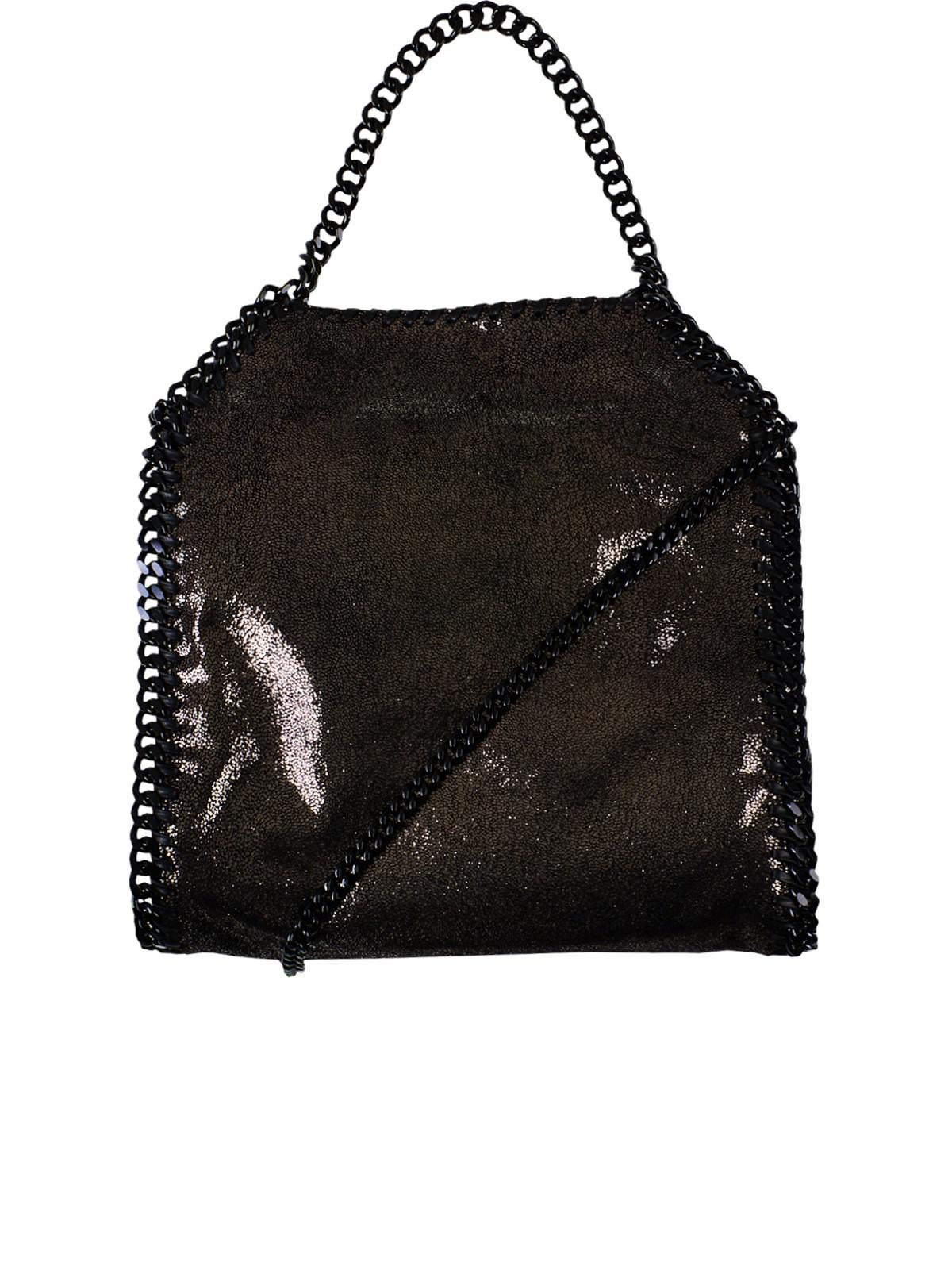 Stella McCartney - Black Small Tote Falabella Crossbody Bag - Lyst. View  fullscreen 21b60a53b43ec