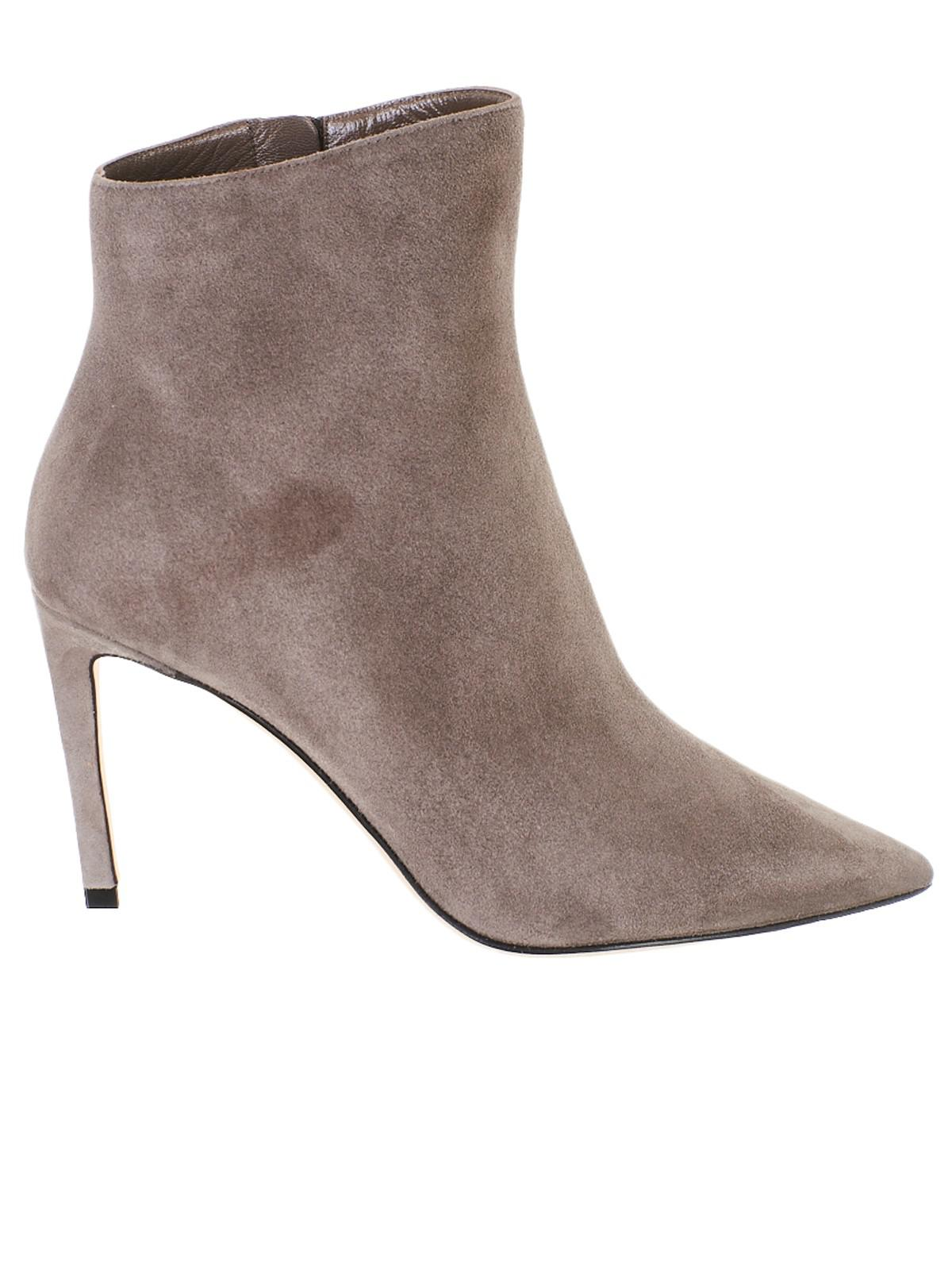 8f52d7231709e Lyst - Jimmy Choo Grey Helaine Ankle Boots in Gray