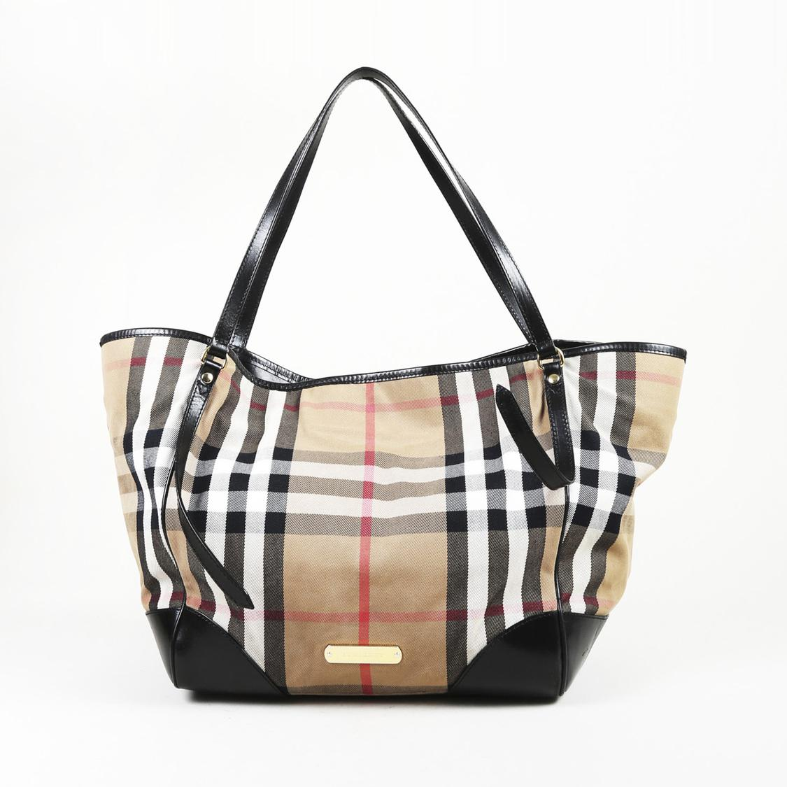 890147a5a293 Lyst - Burberry Canvas