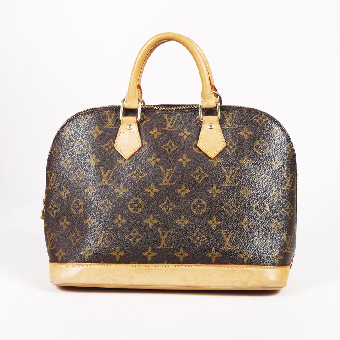 209758d7ab3e Lyst - Louis Vuitton Brown Monogram Canvas