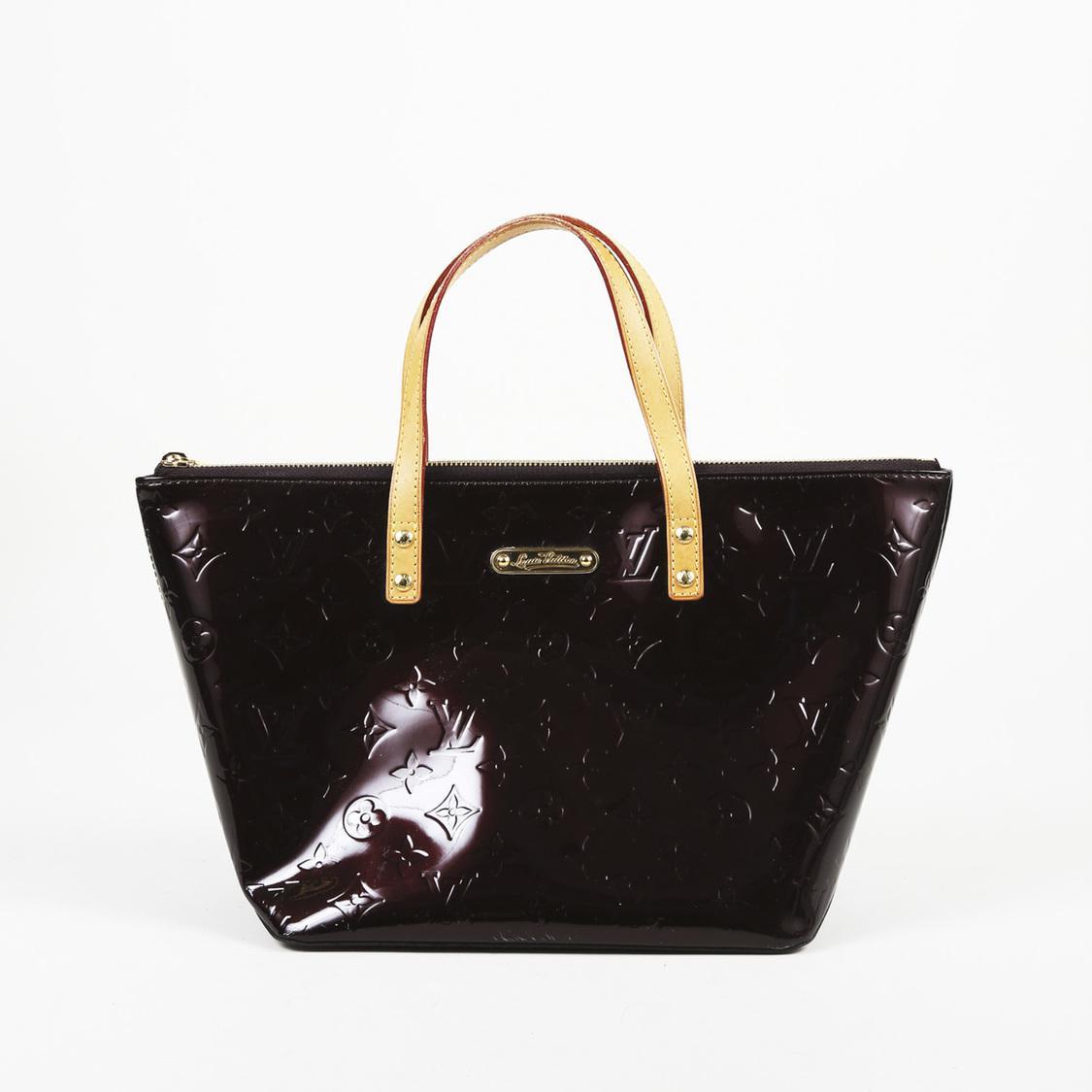 021e5c67c0b0 Lyst - Louis Vuitton Monogram Vernis Leather